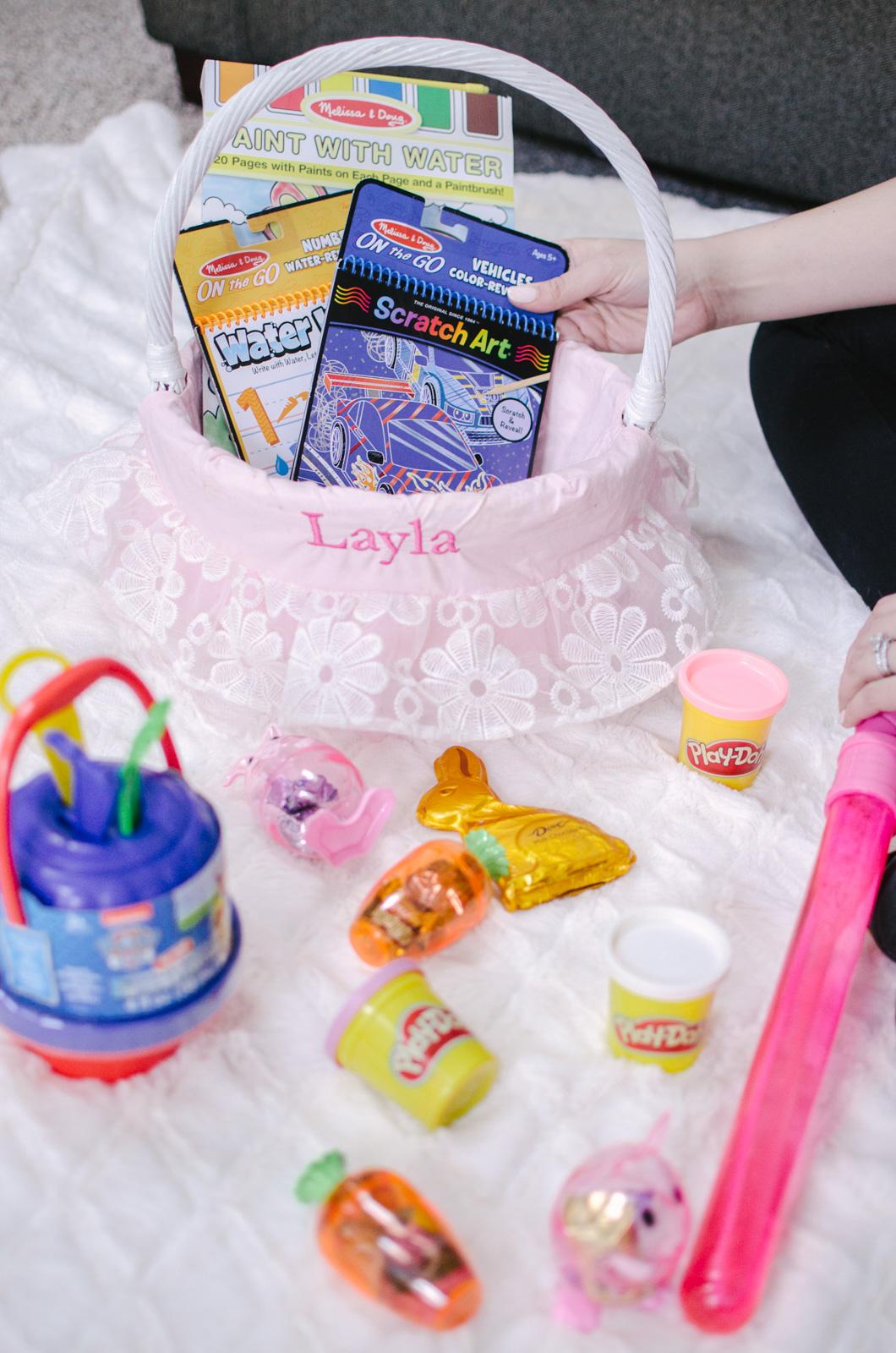best toddler easter basket ideas on amazon prime. Gotta love 2-day shipping, right?! | bylaurenm.com