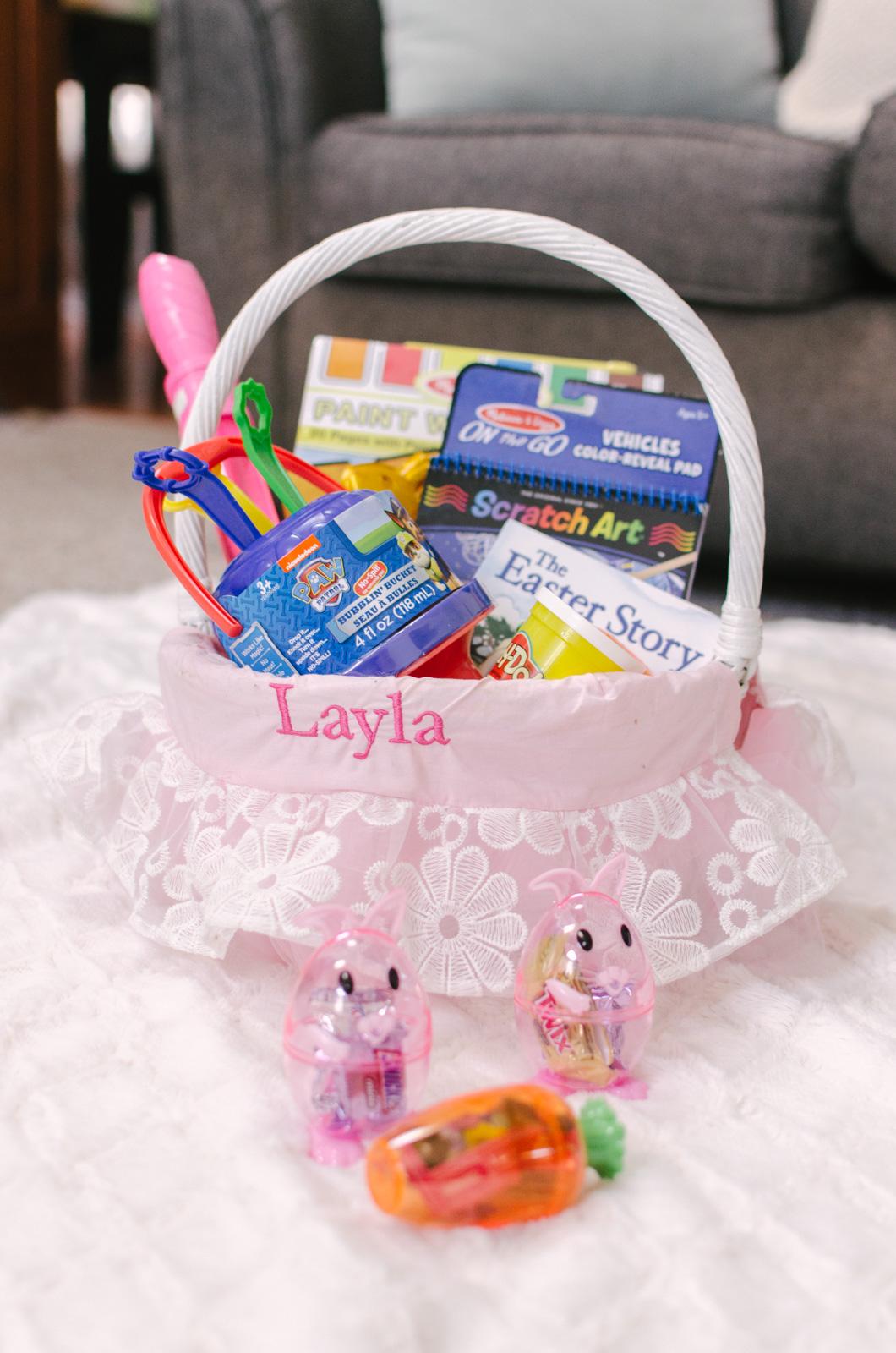 toddler easter basket ideas on amazon prime | bylaurenm.com