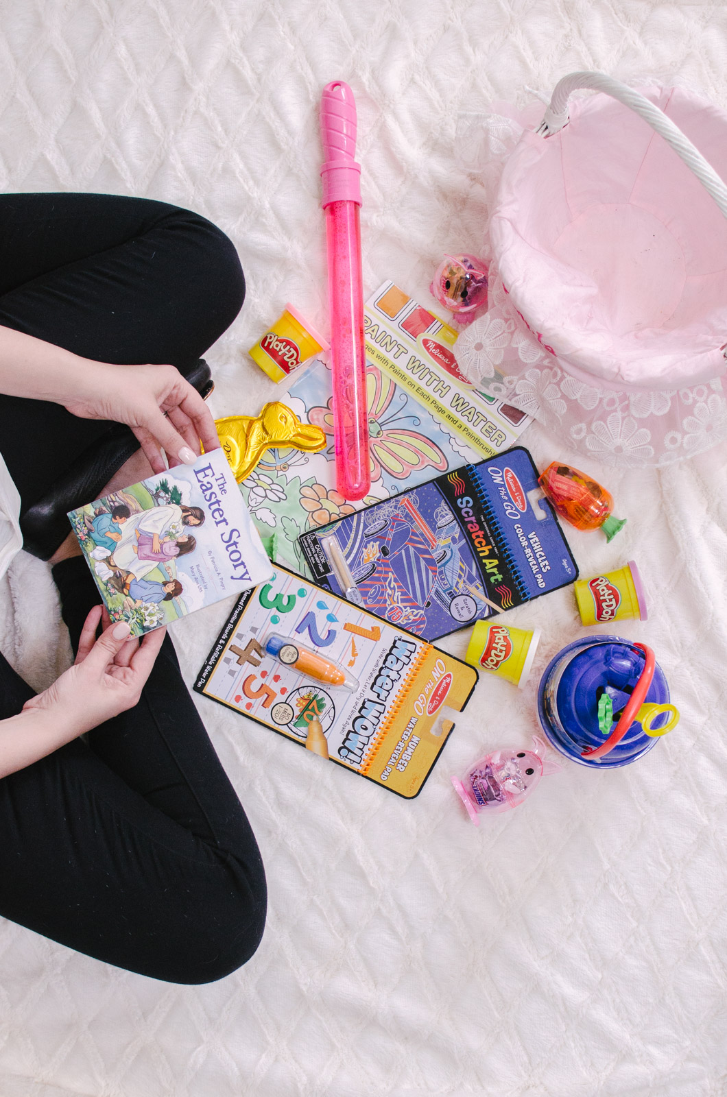 best toddler easter basket ideas - cute easter basket ideas available on amazon prime! Gotta love 2-day shipping, right?! | bylaurenm.com