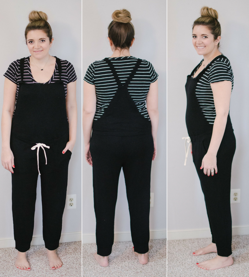 ultimate maternity overalls review - eight pairs of maternity overalls reviewed for fit, style, and comfort! bylaurenm.com