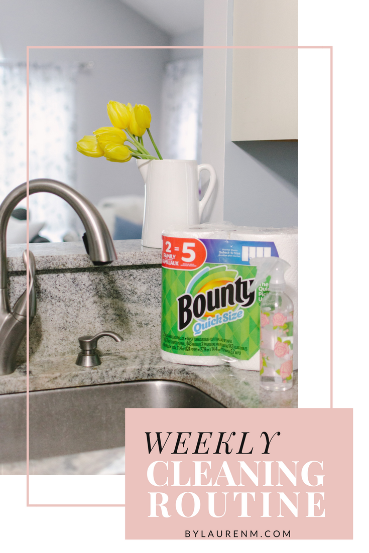 weekly cleaning routine - weekly home cleaning schedule: what rooms to clean each day to always have a clean home! bylaurenm.com
