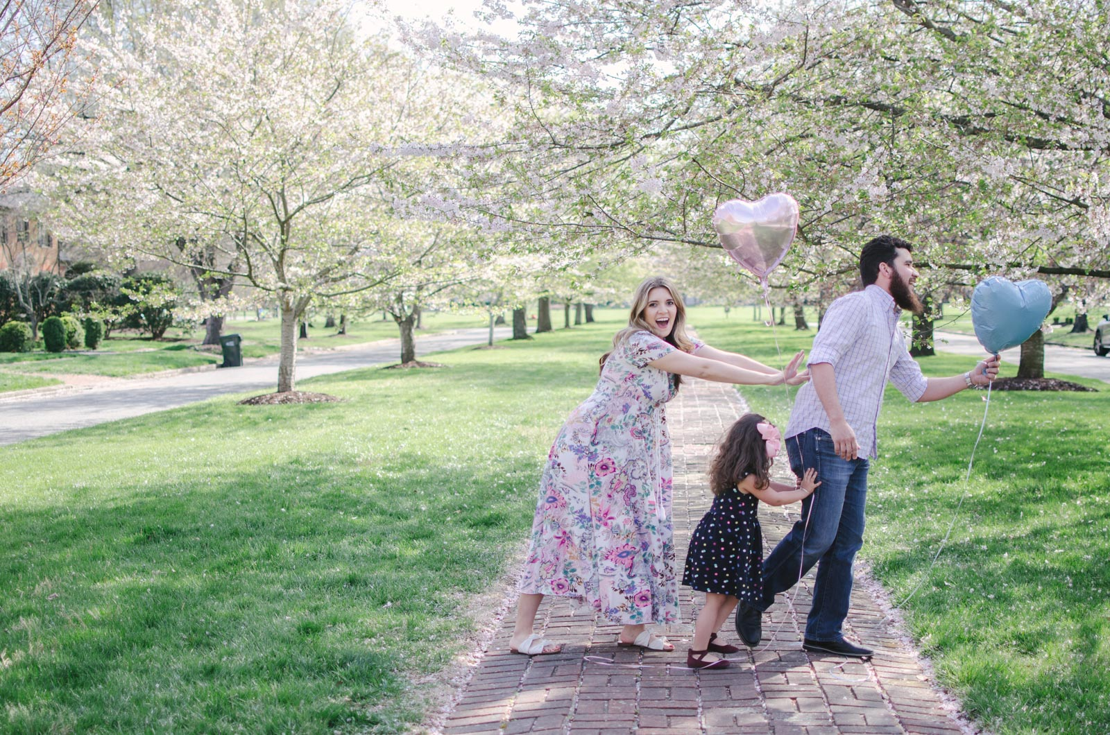 baby gender reveal - it's a girl reveal! | bylaurenm.com