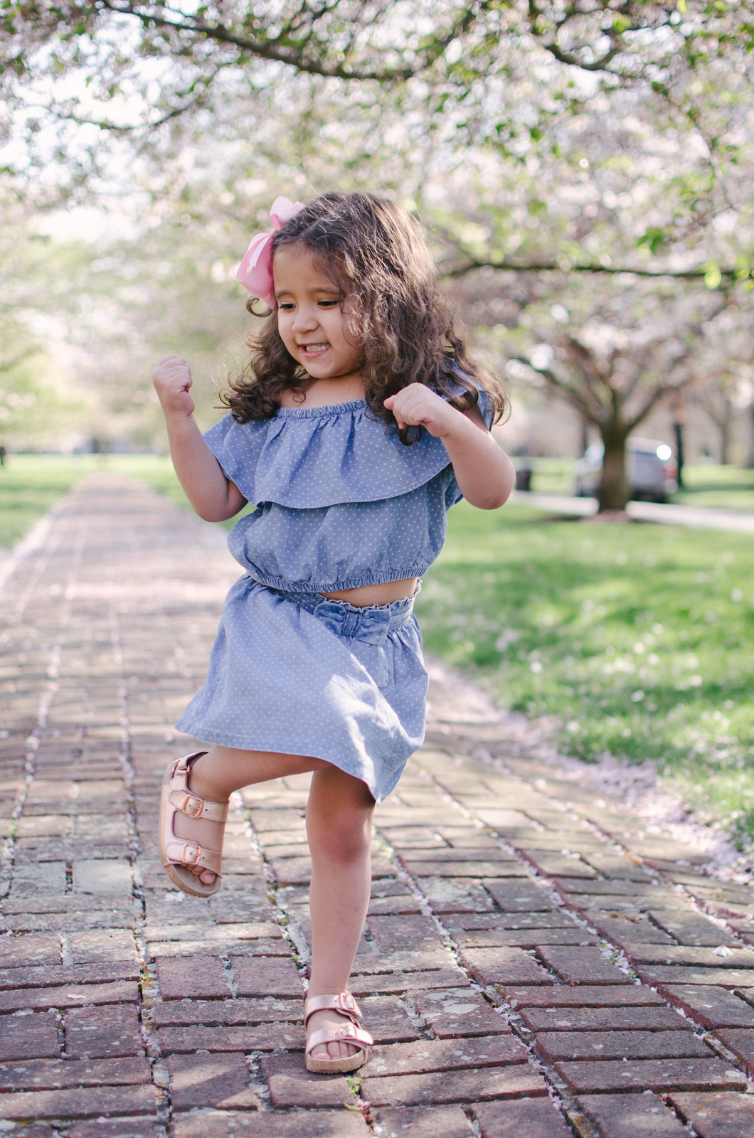 toddler girl spring outfit - cute toddler style | bylaurenm.com