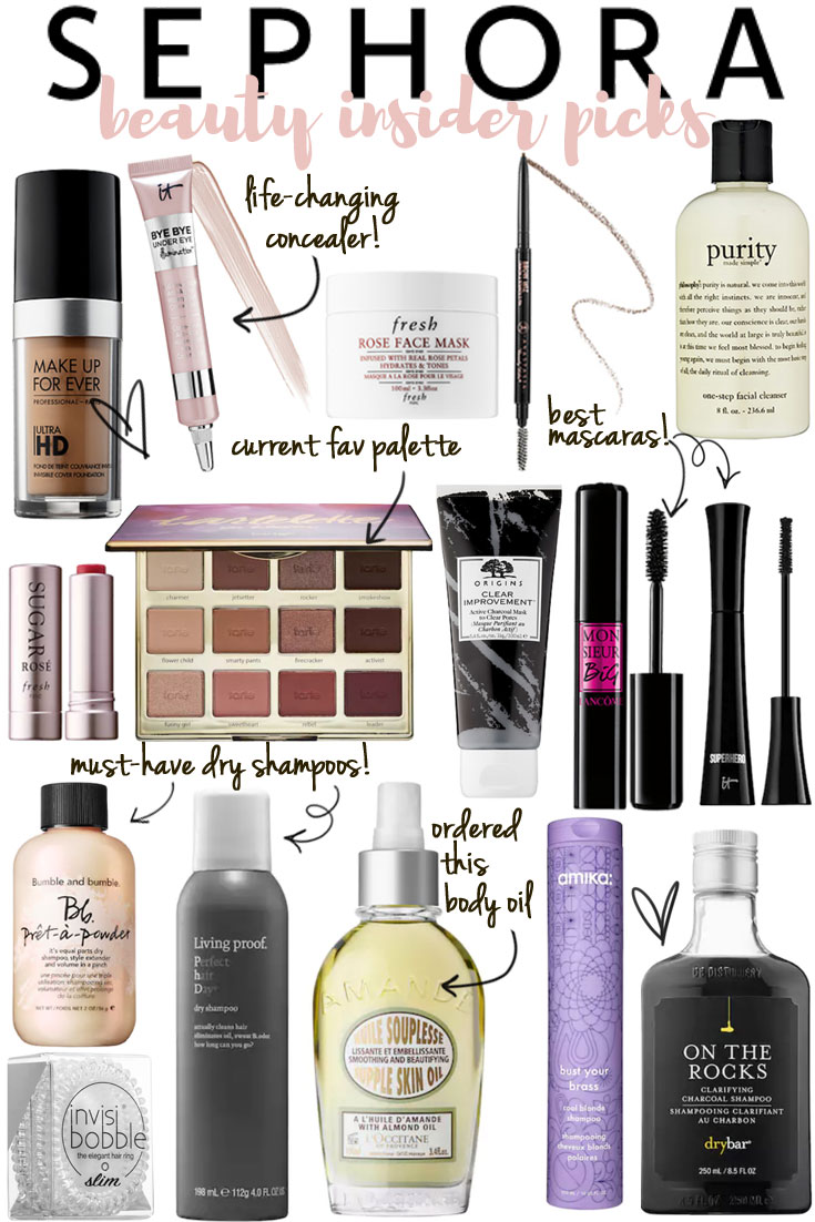 sephora beauty insider + VIB sale | the best sephora sale beauty picks | bylaurenm.com