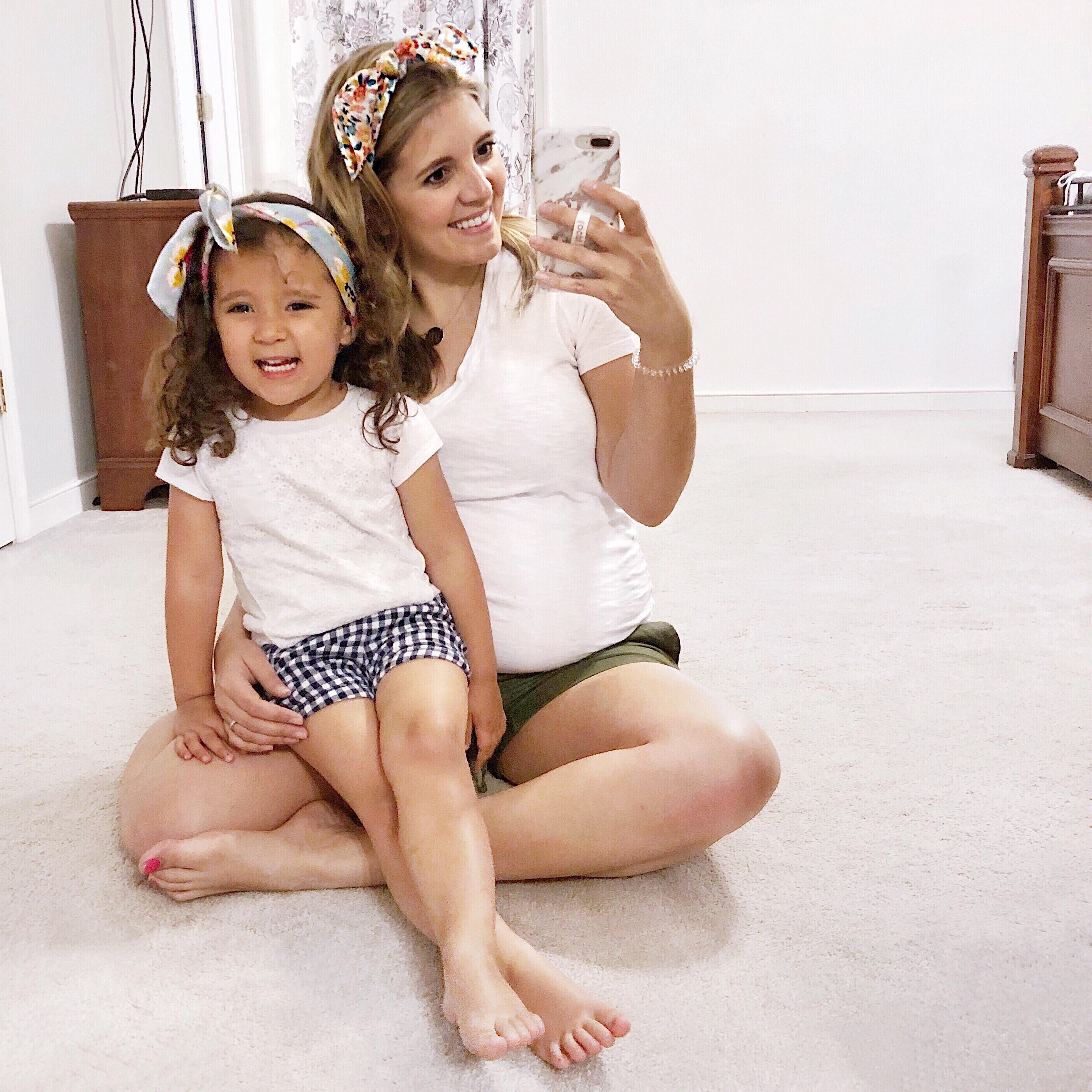 25 weeks pregnant - 25 weeks bumpdate | bylaurenm.com
