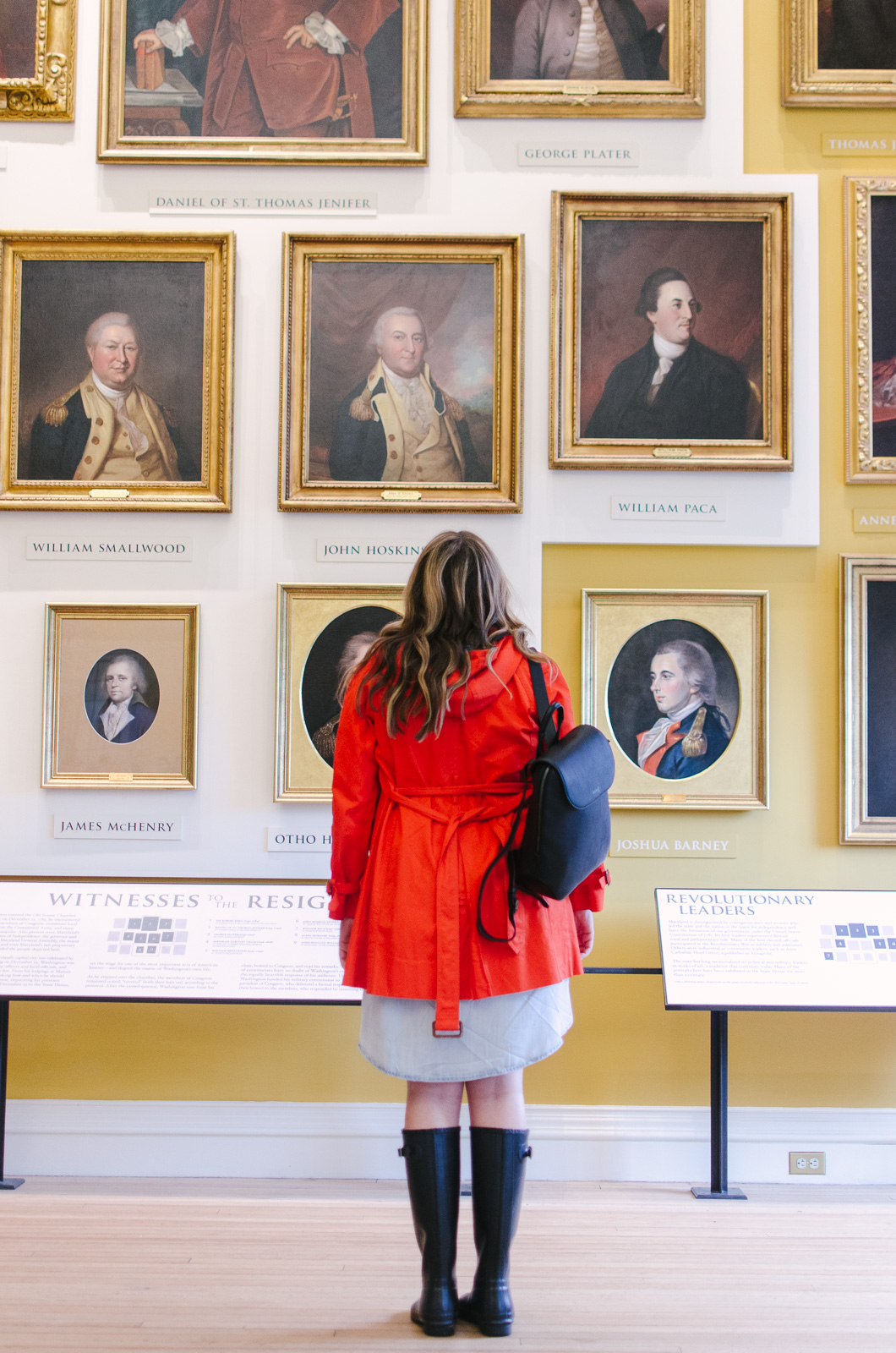 Maryland State House tour | Don't miss the full Annapolis Weekend Guide: where to eat, what to do, and where to stay! | bylaurenm.com