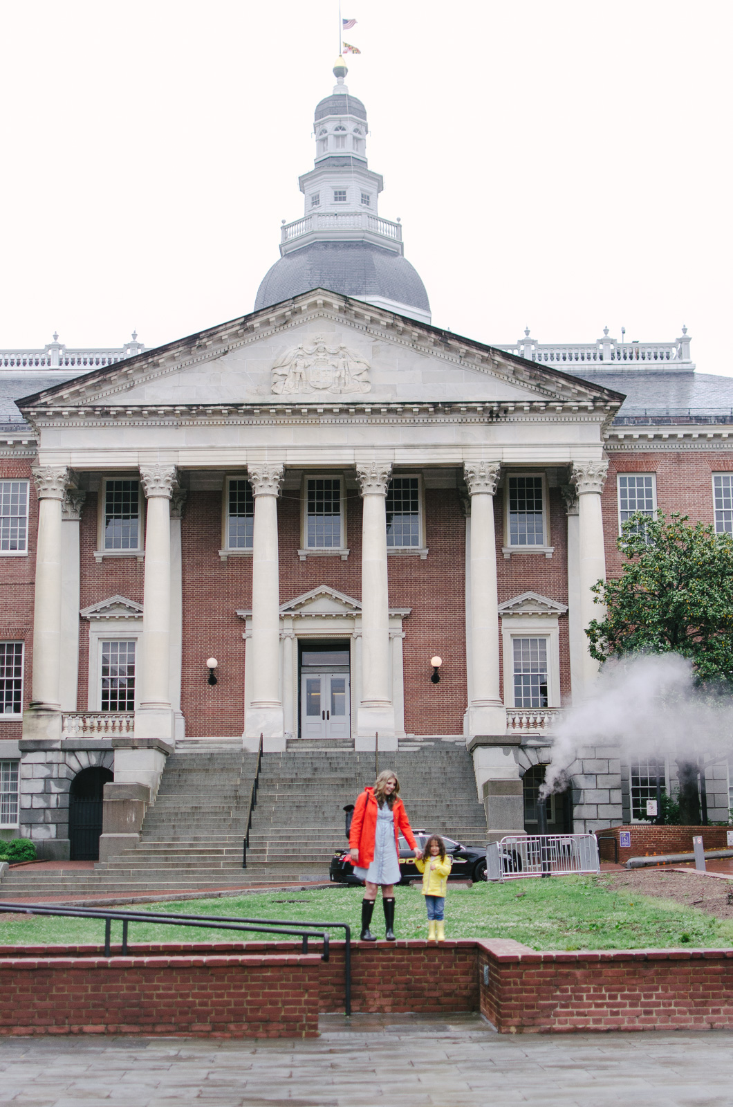 Maryland State House | Don't miss the full Annapolis Weekend Guide: where to eat, what to do, and where to stay! | bylaurenm.com