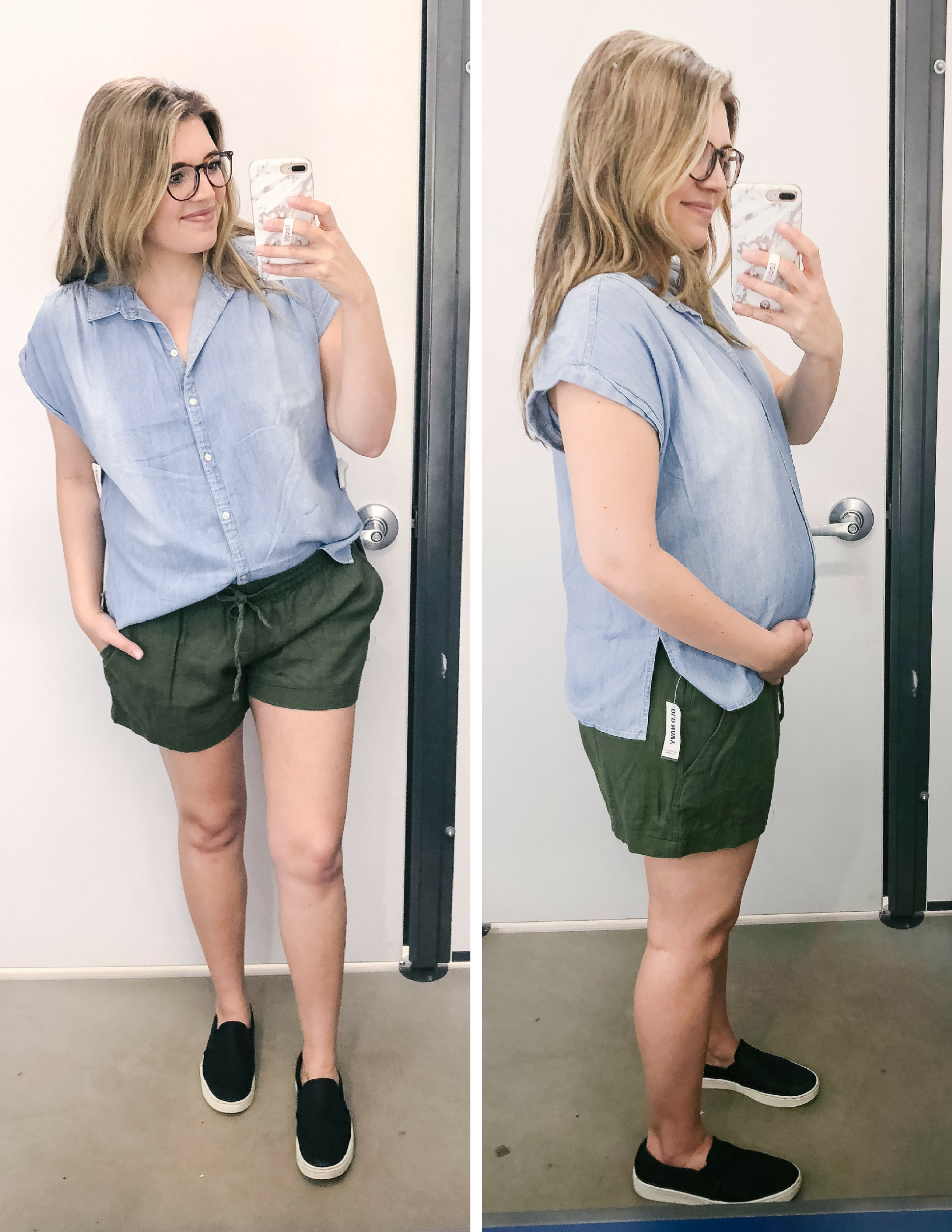 251fba3d Old Navy spring outfit ideas - spring dressing room reviews Old Navy -  non-maternity