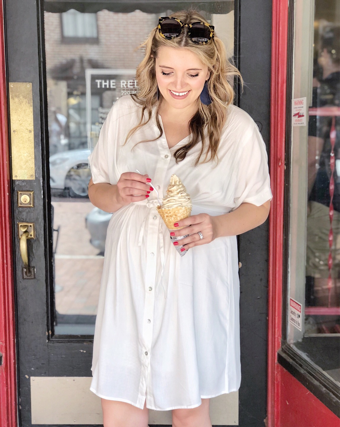 Annapolis Red Bean Ice cream | Don't miss the full Annapolis Weekend Guide: where to eat, what to do, and where to stay! | bylaurenm.com