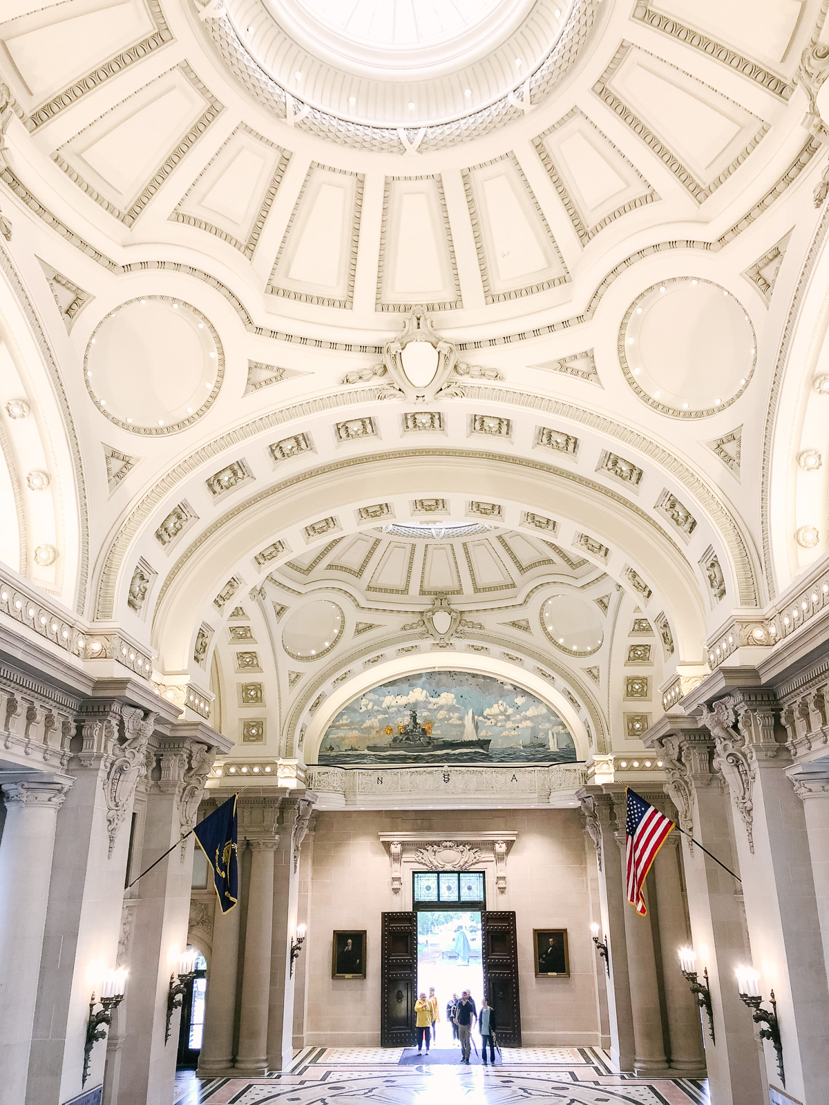 USNA tour Bancroft Hall | Don't miss the full Annapolis Weekend Guide: where to eat, what to do, and where to stay! | bylaurenm.com