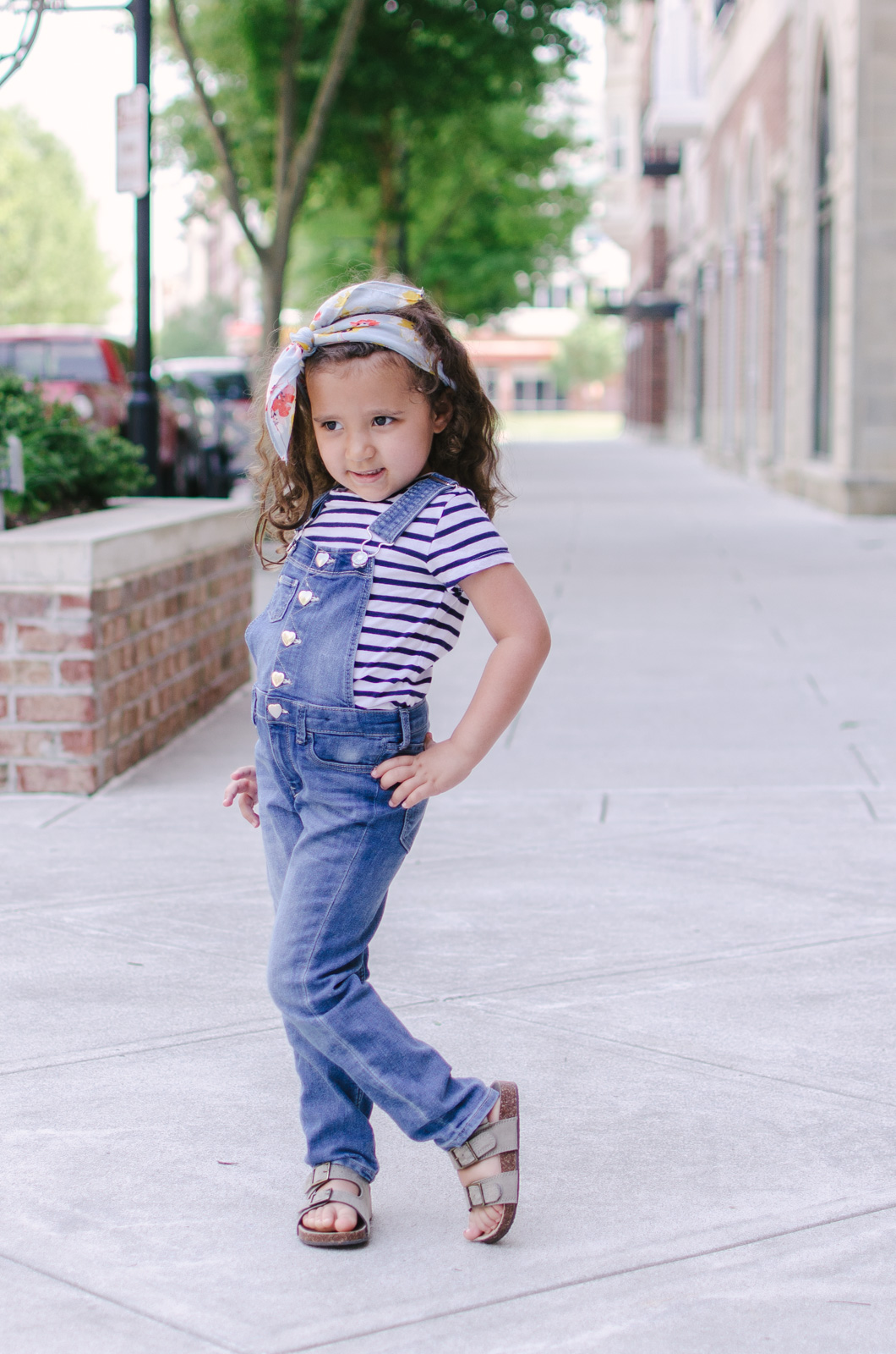 toddler girl overalls outfit - mommy and me matching overalls outfits | bylaurenm.com
