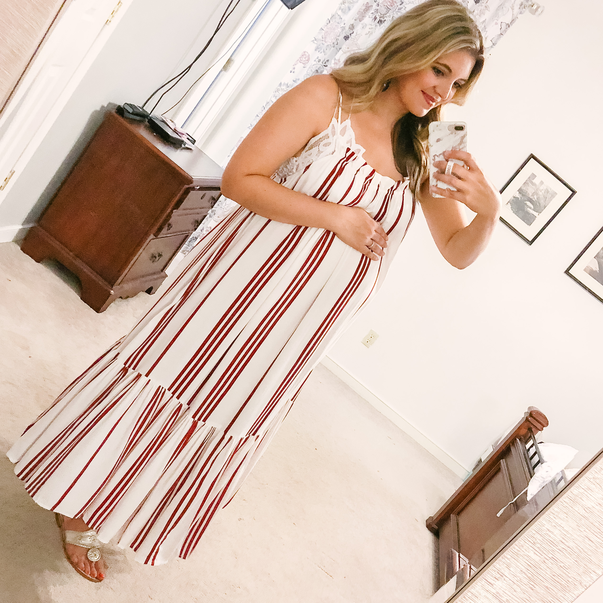 cutest patriotic outfit ideas - I love this dress for the 4th of july! | patriotic outfit roundup - come see over 15 4th of july outfit ideas! bylaurenm.com