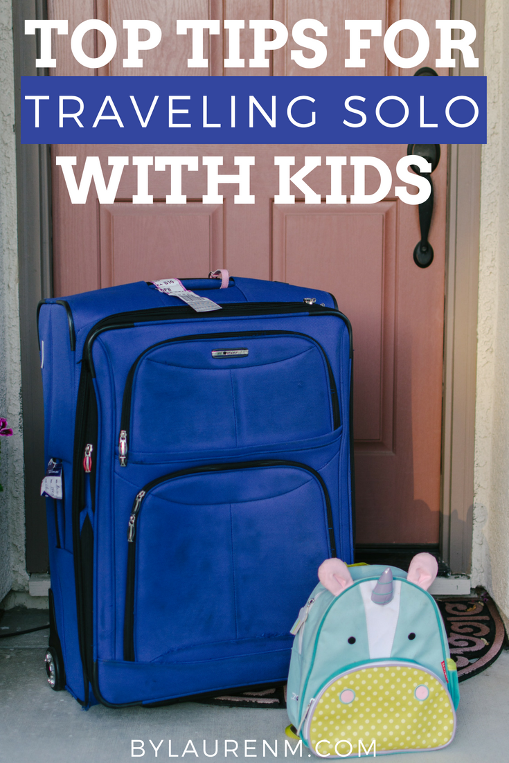 tips for flying with kids - are you traveling with little ones? See my top tips to survive even the longest travel days with kids! | bylaurenm.com