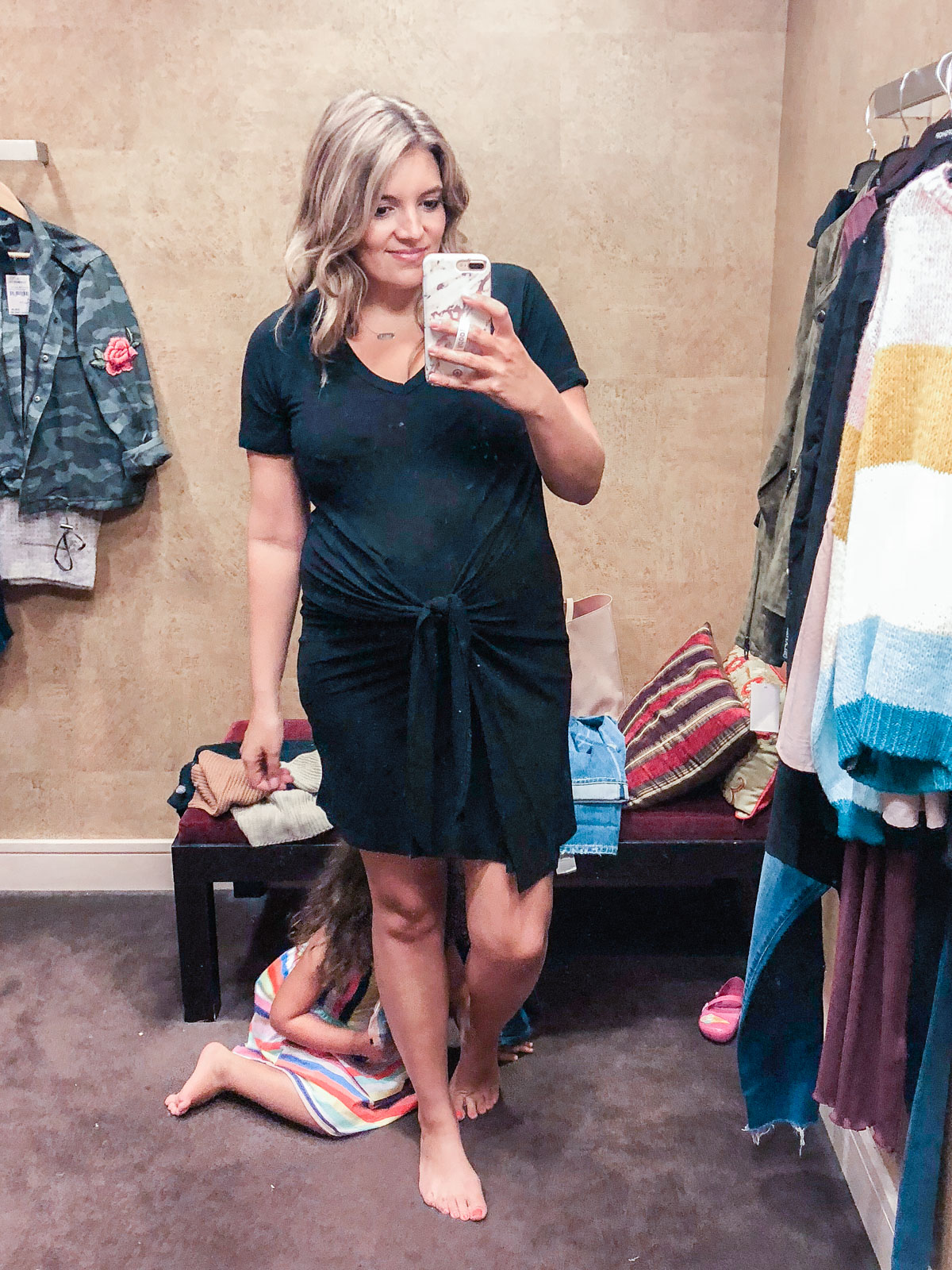 knot-waist dress - Nordstrom anniversary sale 2018 try-on session: over 25 items reviewed for fit and size! | bylaurenm.com