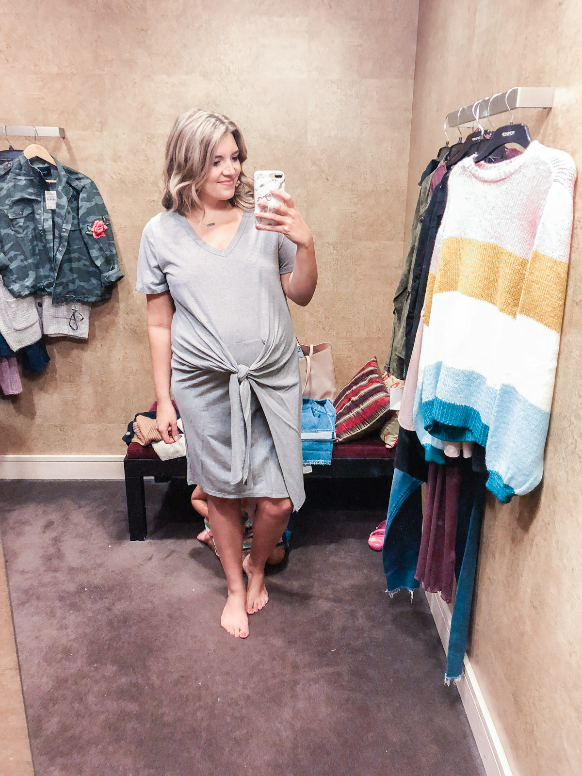 Tie-waist dress - Nordstrom anniversary sale 2018 try-on session: over 25 items reviewed for fit and size! | bylaurenm.com