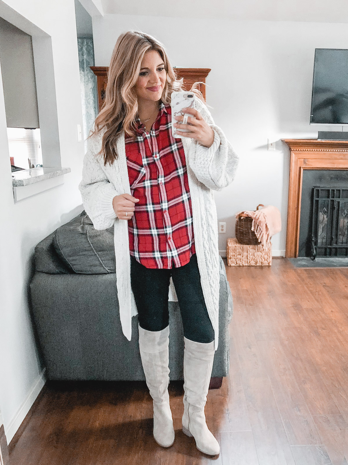 classic plaid outfits - Need plaid top outfit ideas? I'm sharing one $31 plaid top styled 15 different ways on bylaurenm.com!