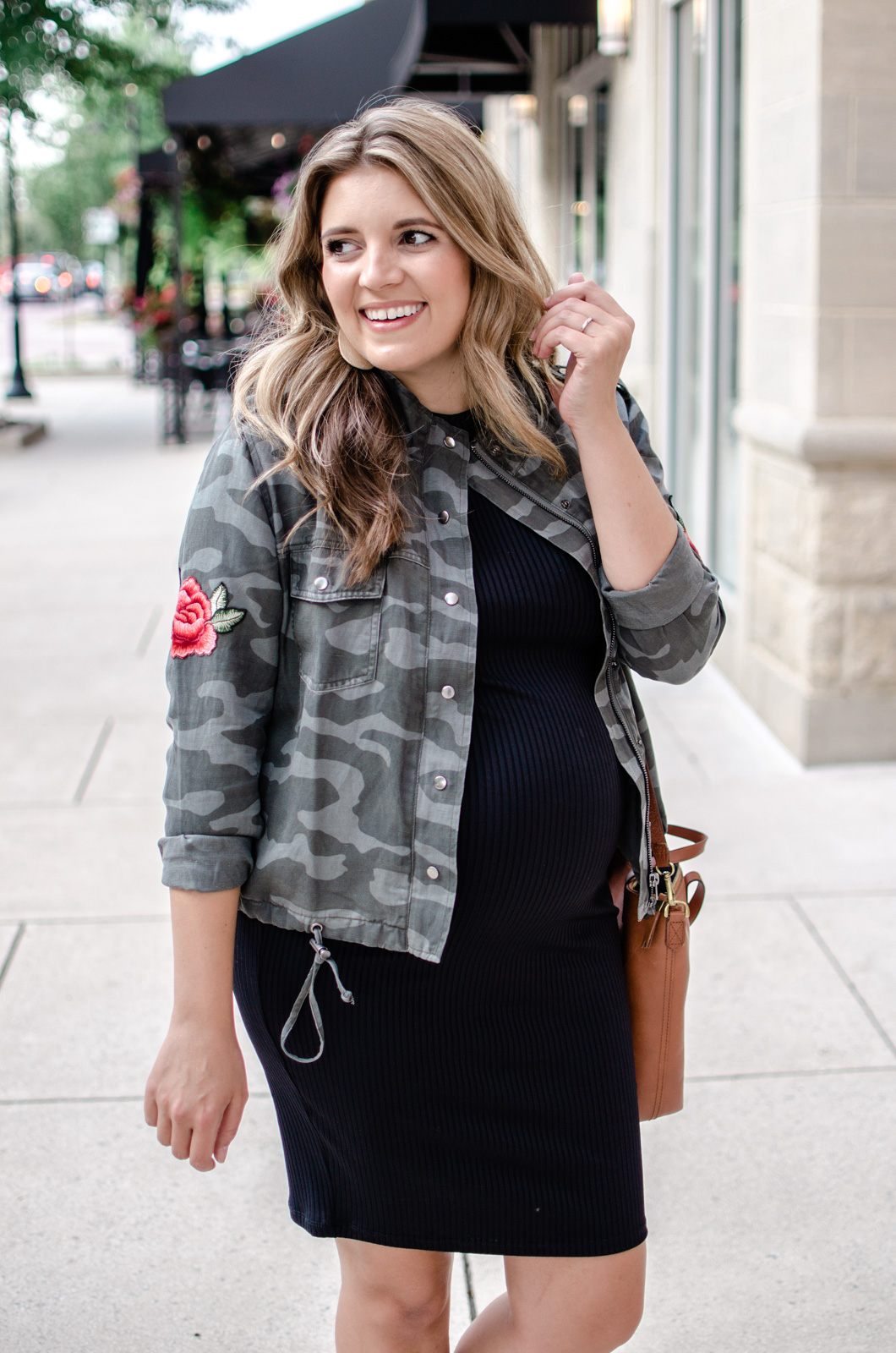cute fall pregnancy outfit casual - nordstrom anniversary sale outifts | bylaurenm.com