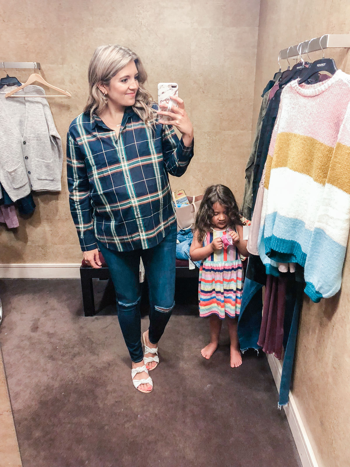 madewell plaid top - Nordstrom anniversary sale 2018 try-on session: over 25 items reviewed for fit and size! | bylaurenm.com