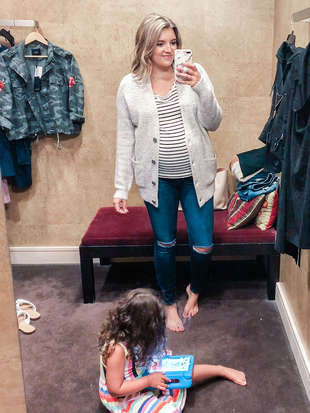 BP. waffle stitch cardigan - Nordstrom anniversary sale 2018 try-on session: over 25 items reviewed for fit and size!   bylaurenm.com