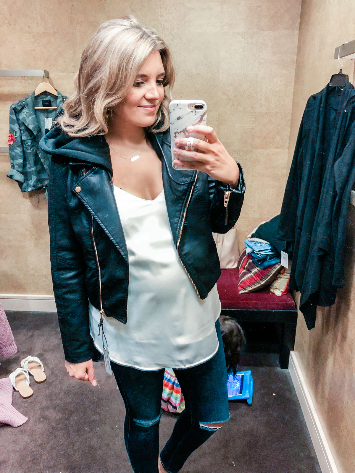 Blanknyc moto jacket - Nordstrom anniversary sale 2018 try-on session: over 25 items reviewed for fit and size! | bylaurenm.com