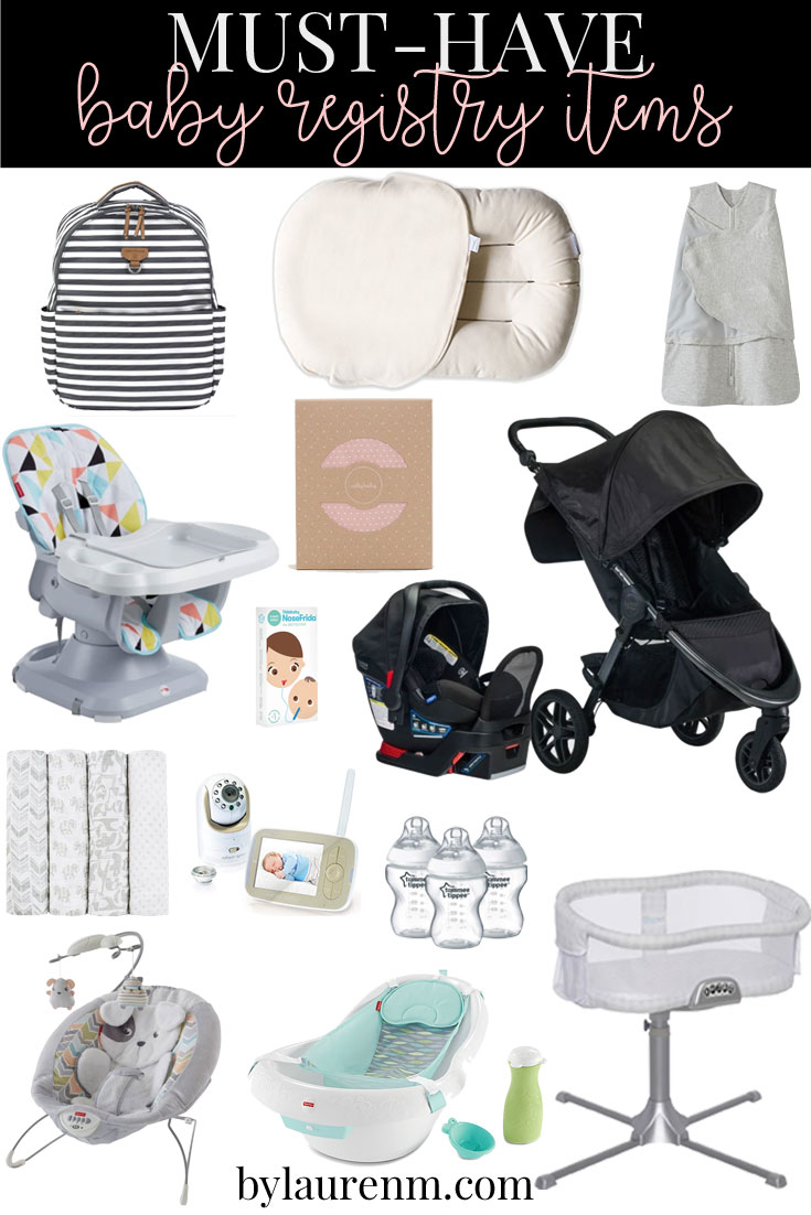 he easiest baby registry + my must-have baby registry items! Sharing baby necessities from a second-time mom! bylaurenm.com
