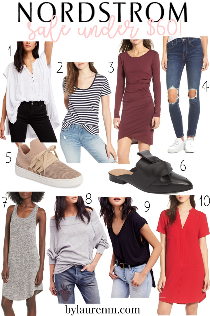 nordstrom sale under sixty dollars - shop the post + enter the nordstrom gift card giveaway at bylaurenm.com!