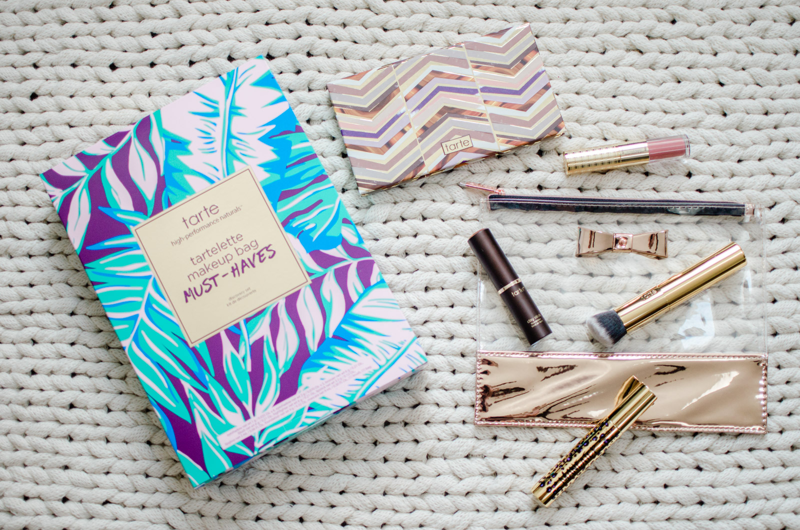 tarte makeup must-haves - sharing my five minute face makeup routine with tarte | bylaurenm.com