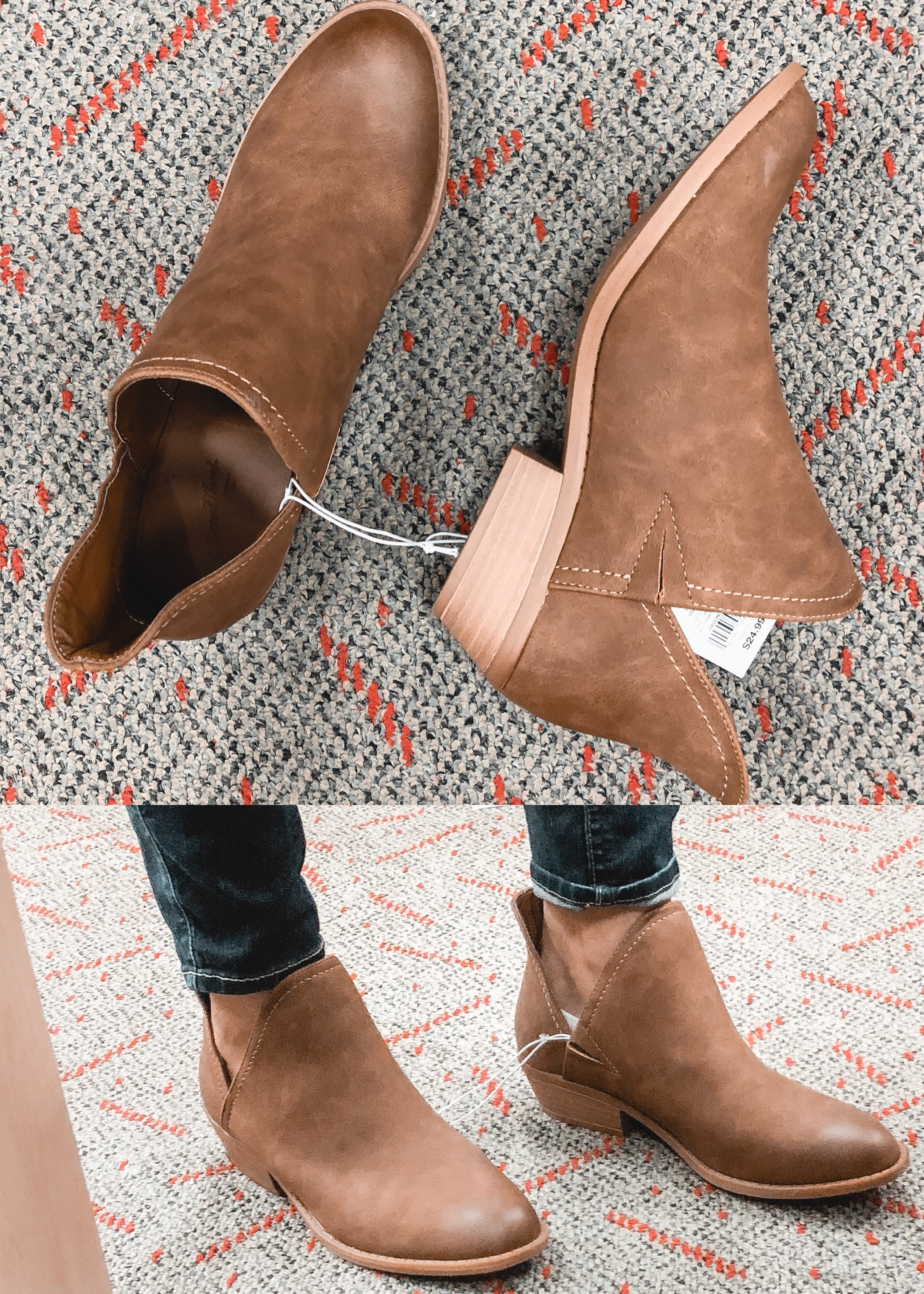 fall target booties - universal thread nora bootie | 9 pairs of target fall shoes reviewed! bylaurenm.com