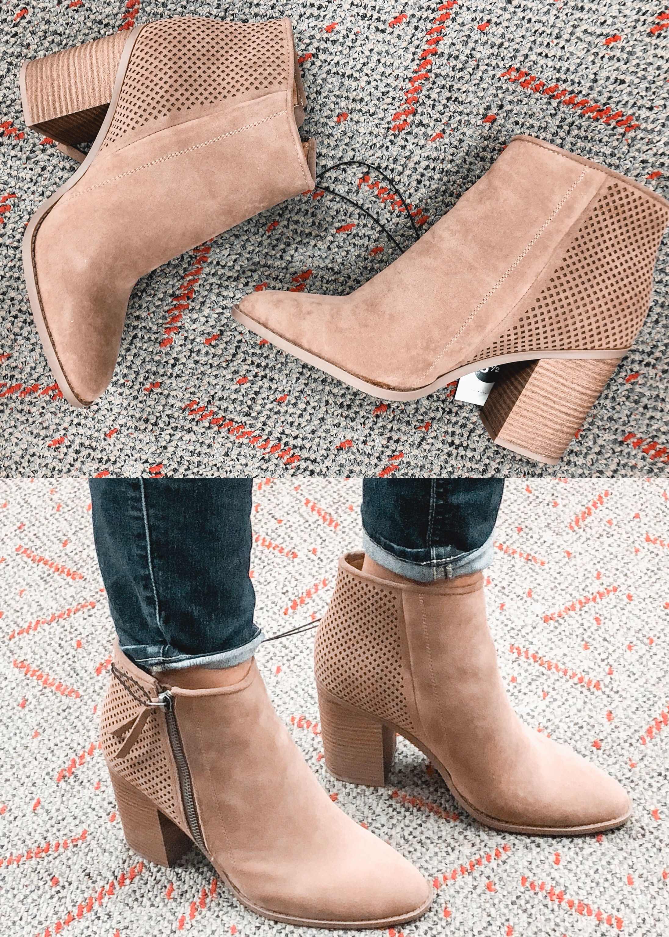 target booties review - universal thread chrissy bootie | 9 pairs of target fall shoes reviewed! bylaurenm.com