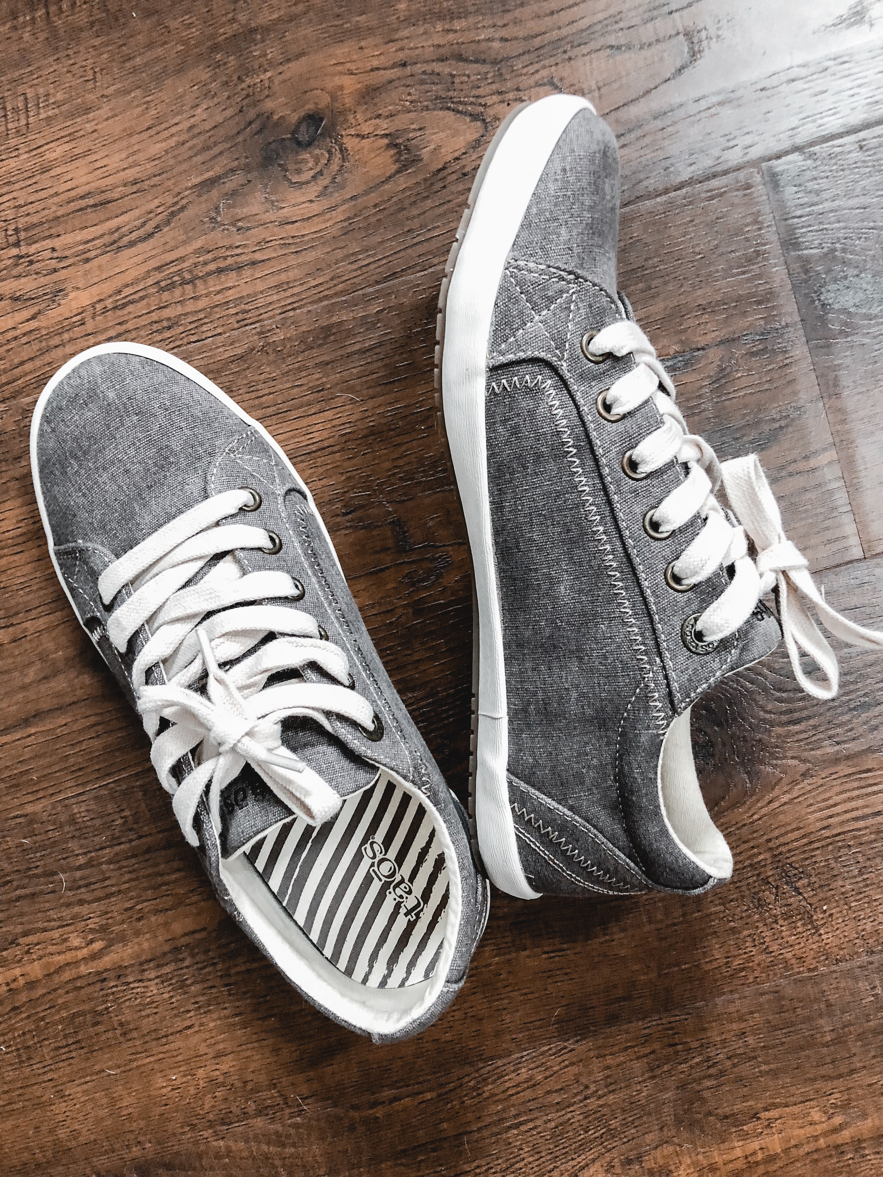 gray sneakers - trunk club review and try-on session | bylaurenm.com