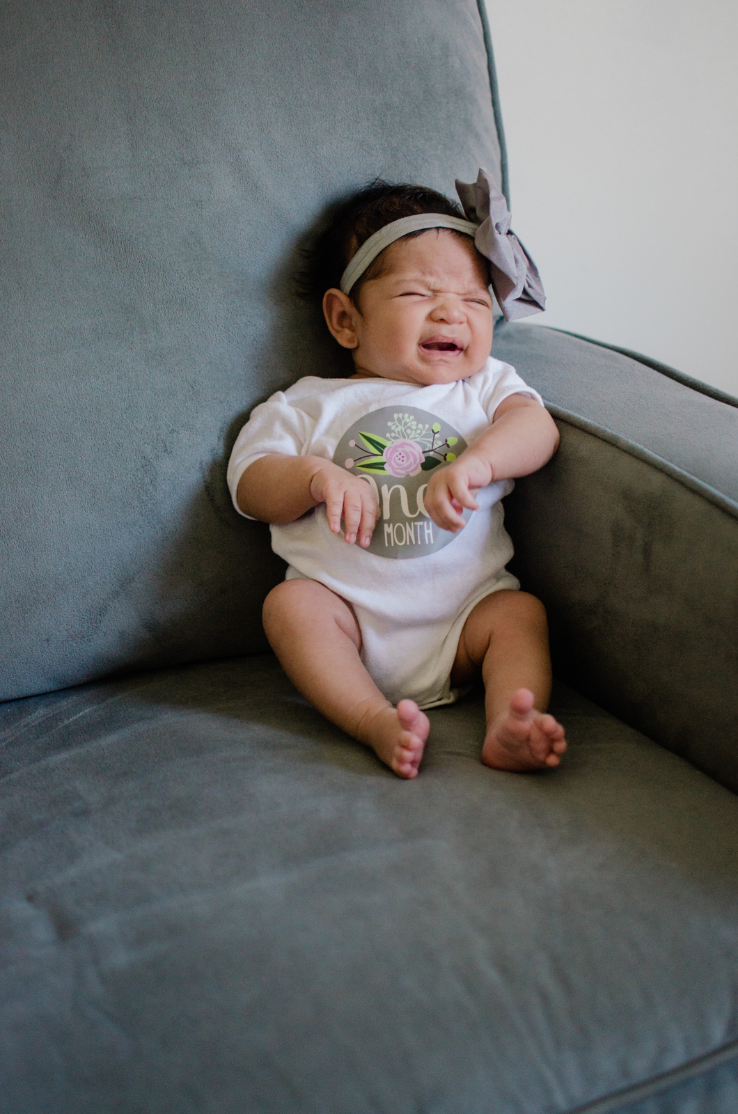 eliana's one month update - All about Ellie at one month old! bylaurenm.com