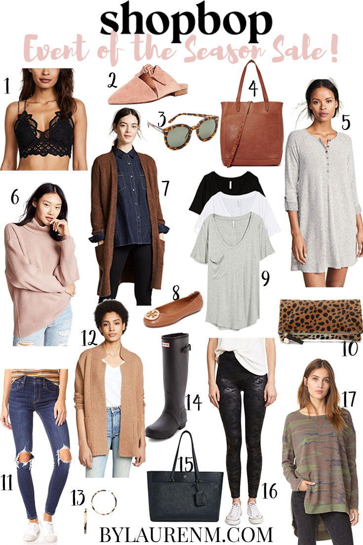 shopbop event of the season sale 2018 - best shopbop finds | bylaurenm.com