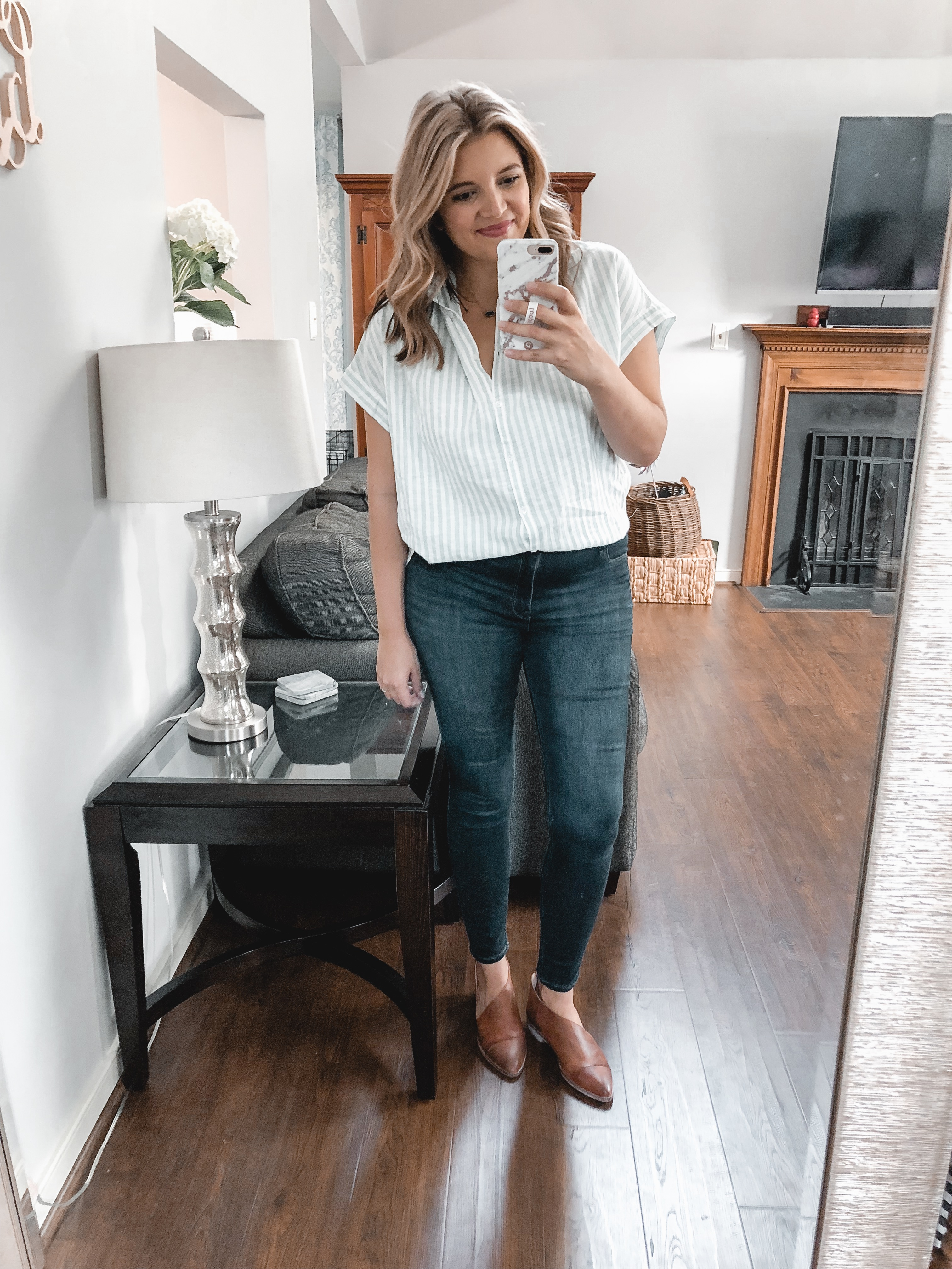 trunk club september review - nursing-friendly try-on session and reviews! bylaurenm.com