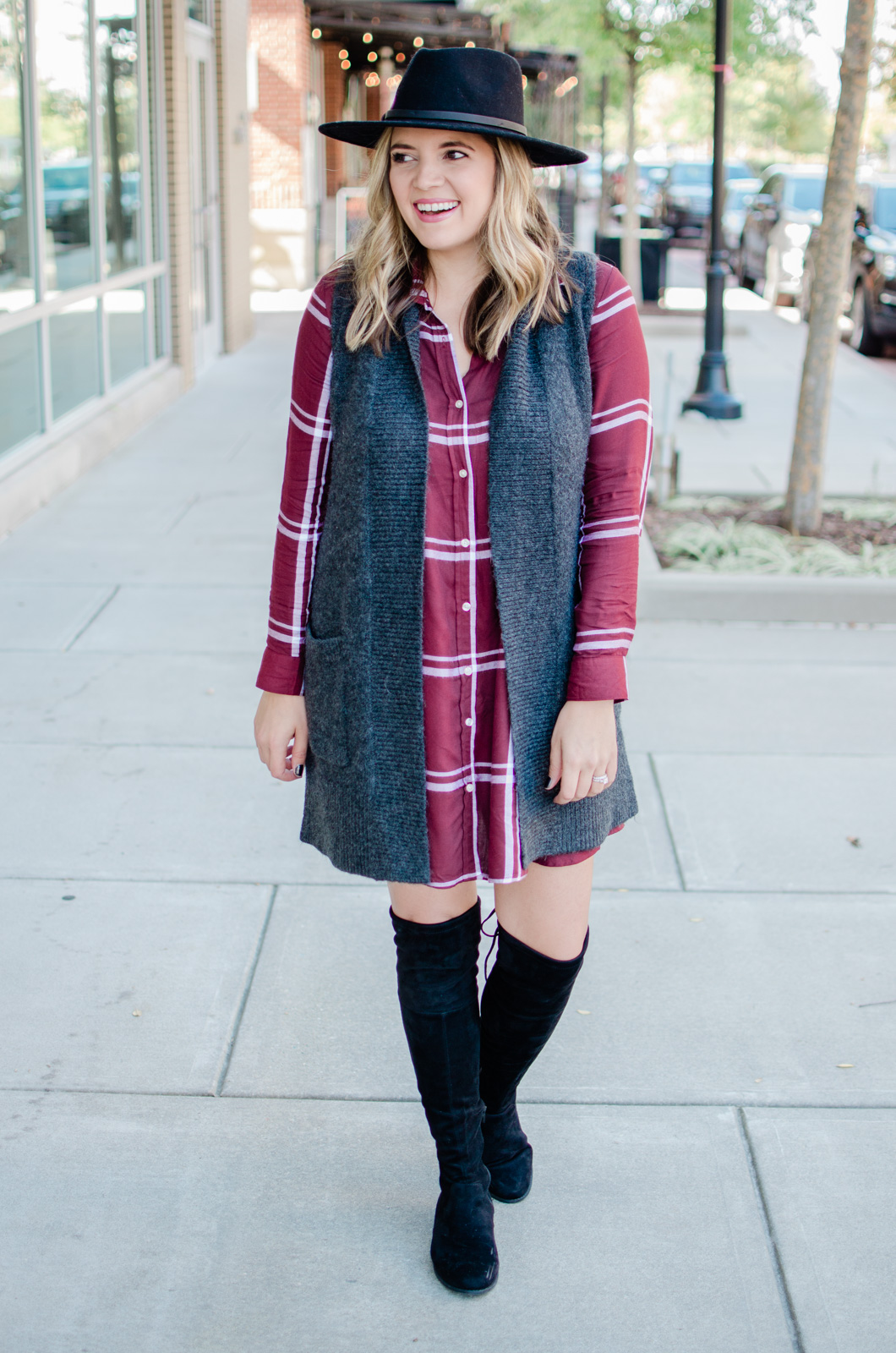 f55607236b4 five plaid dress outfits for fall and winter - head to the post to see the