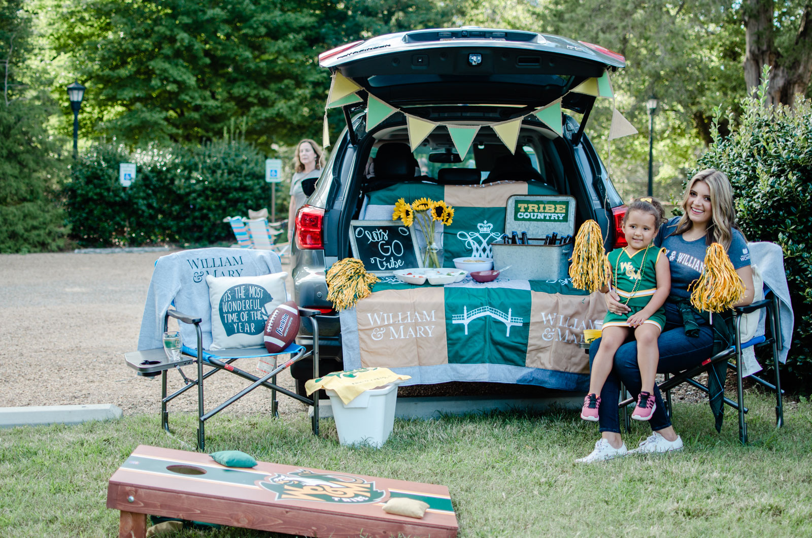 college of william and mary new logo gear - chic football tailgate | bylaurenm.com