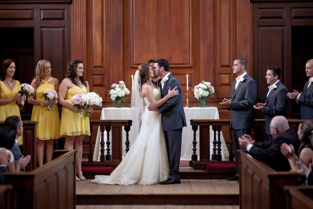 Wren Chapel wedding - Williamsburg VA College of William and Mary | bylaurenm.com