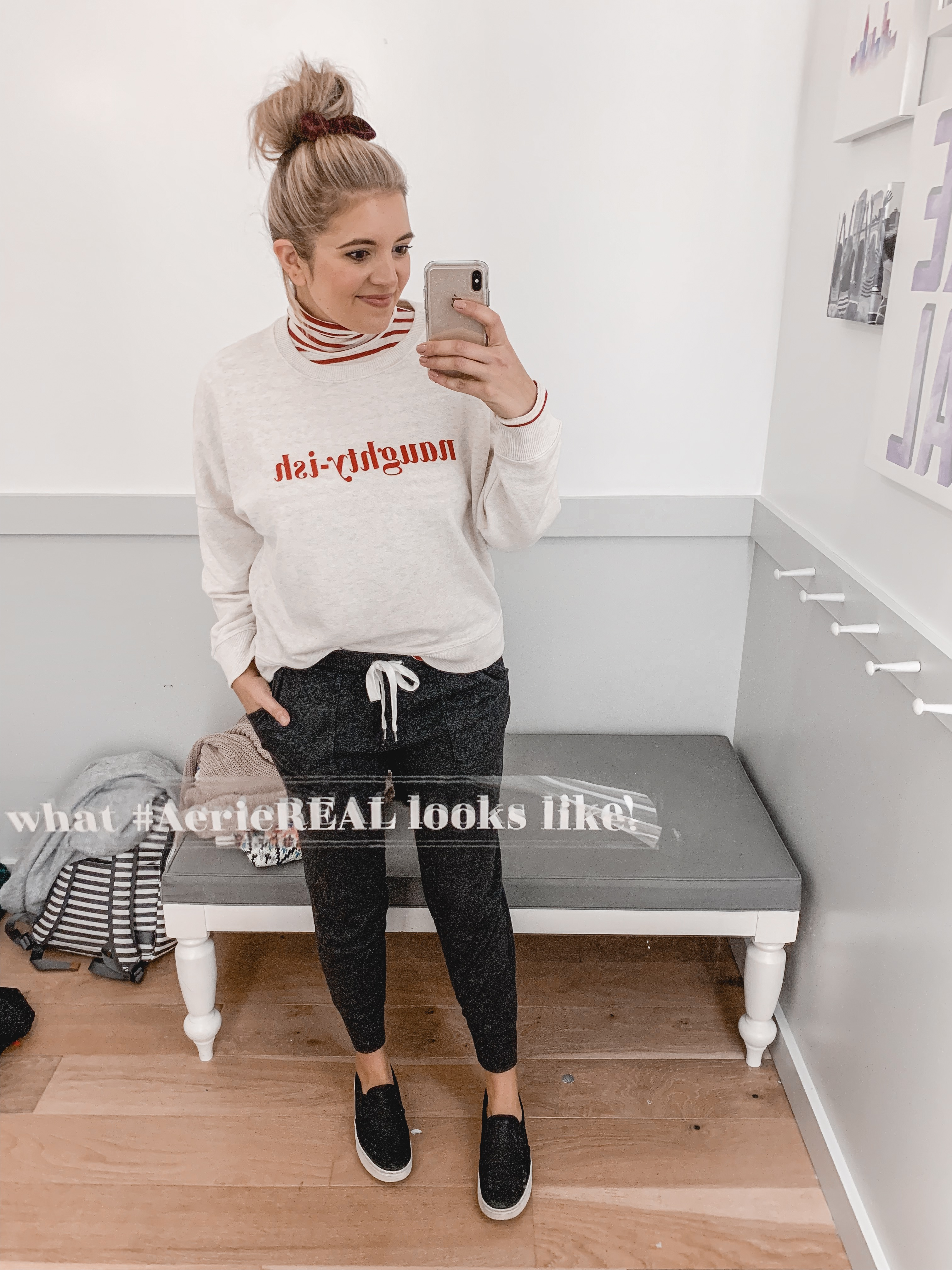 fall and winter aerie try-on session: 25 items reviewed for fit and style! See them all at bylaurenm.com
