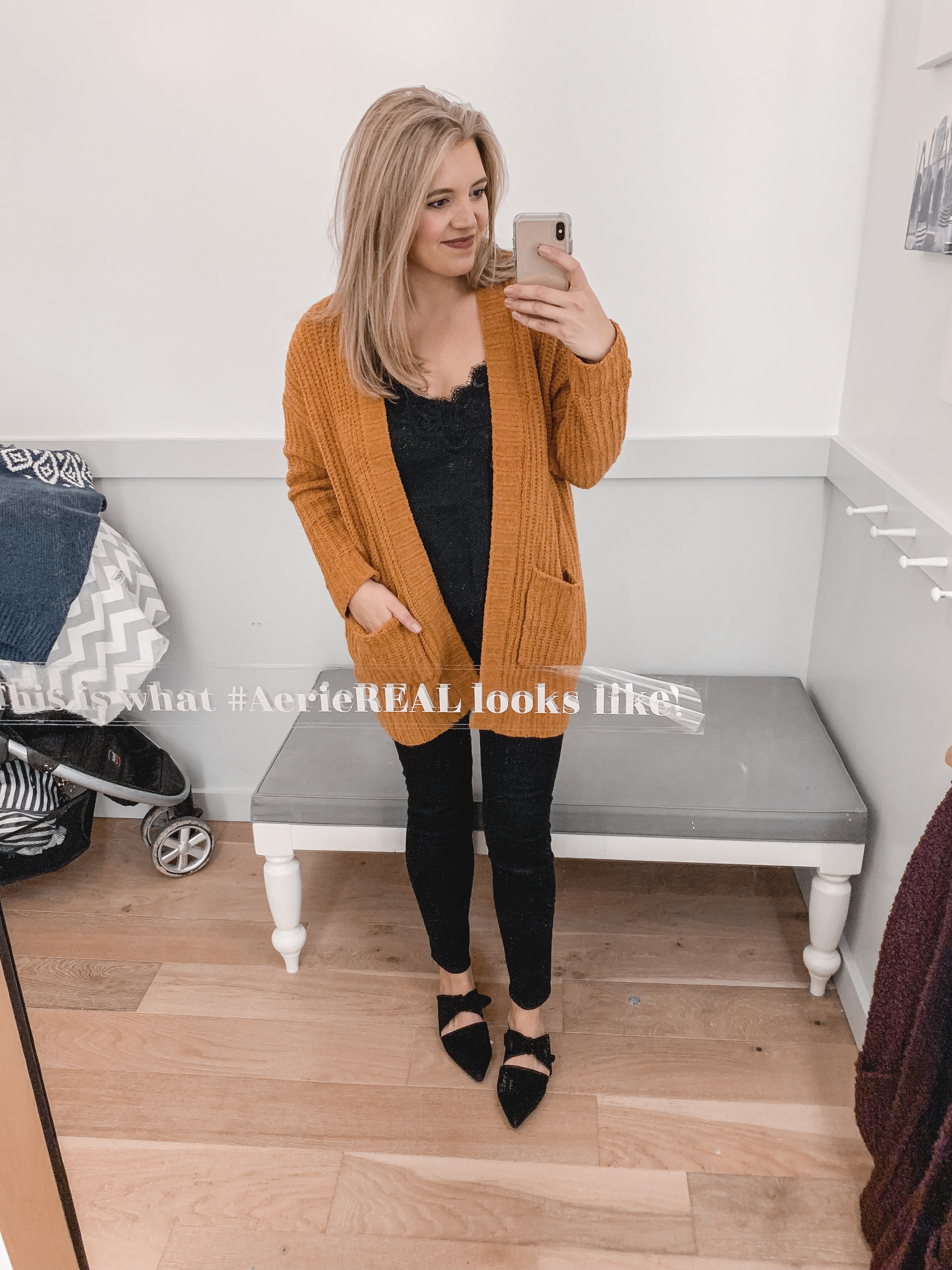 fall and winter american eagle aerie try-on session: 25 items reviewed for fit and style! See them all at bylaurenm.com