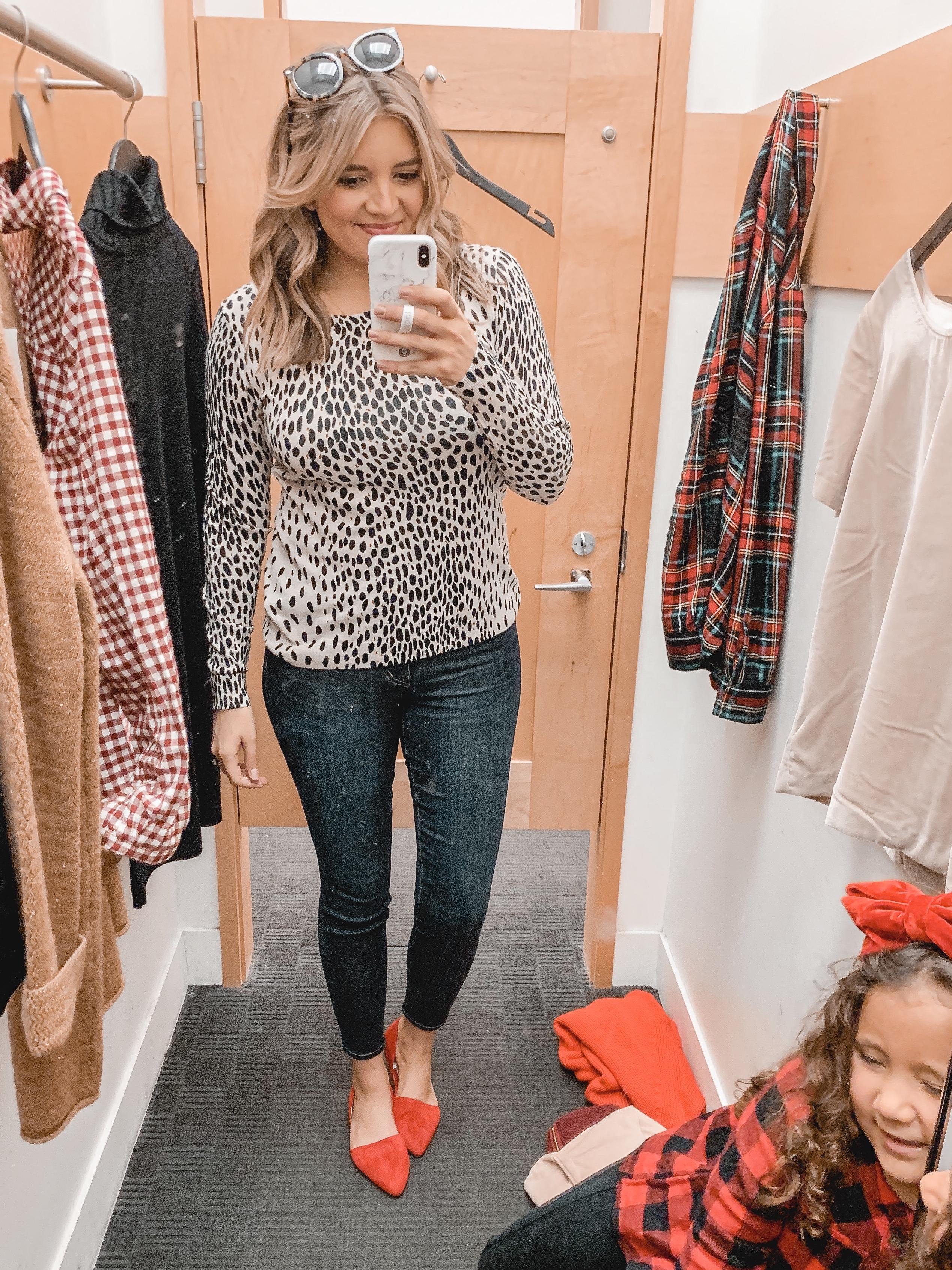 Jcrew Factory Leopard Teddie Sweater By Lauren M