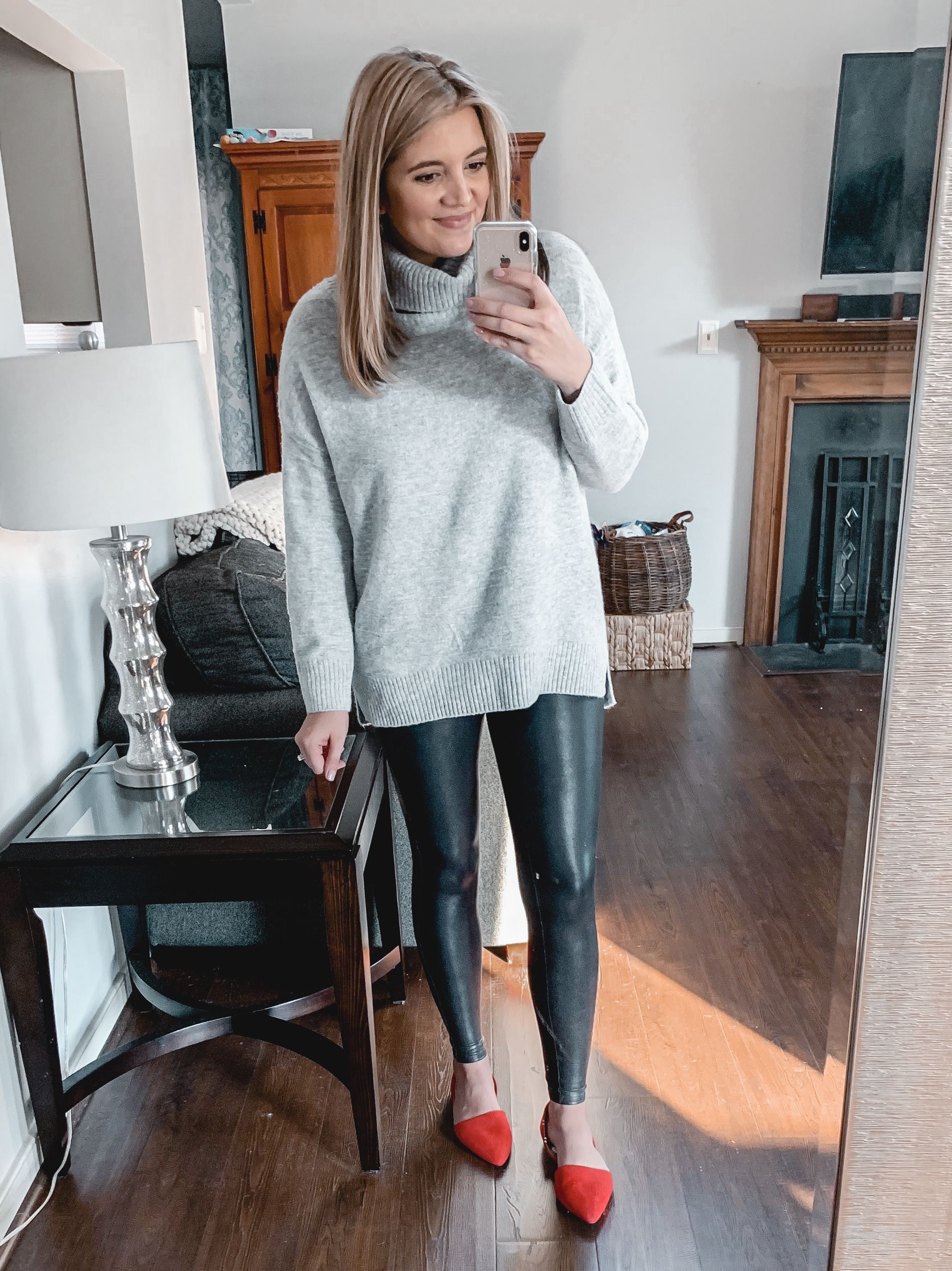 Over 20 Spanx Leather Leggings Outfits By Lauren M