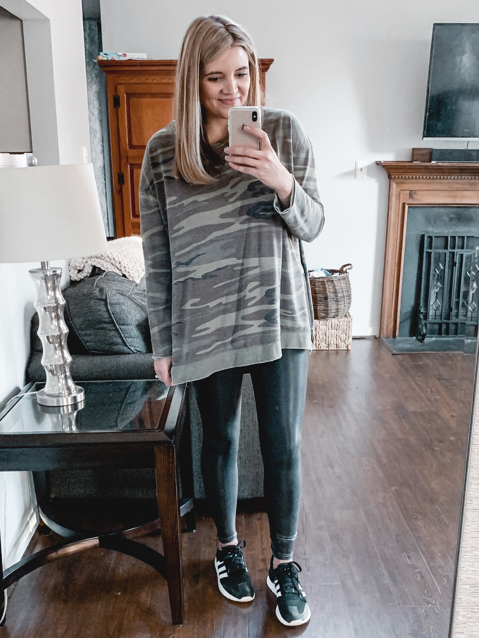 Over 20 Spanx leather leggings outfits - from casual to dressy, this post is covering all the best legging outfit ideas to bust your wardrobe boredom! bylaurenm.com