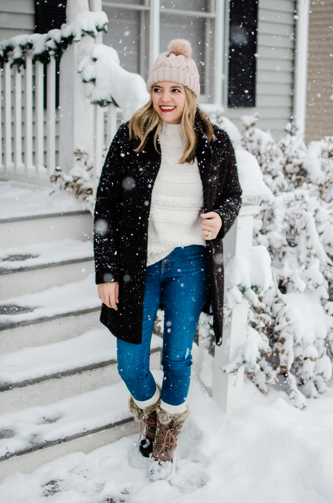 fafa2b57f cute snow day outfit - five snow day outfits for winter! bylaurenm.com