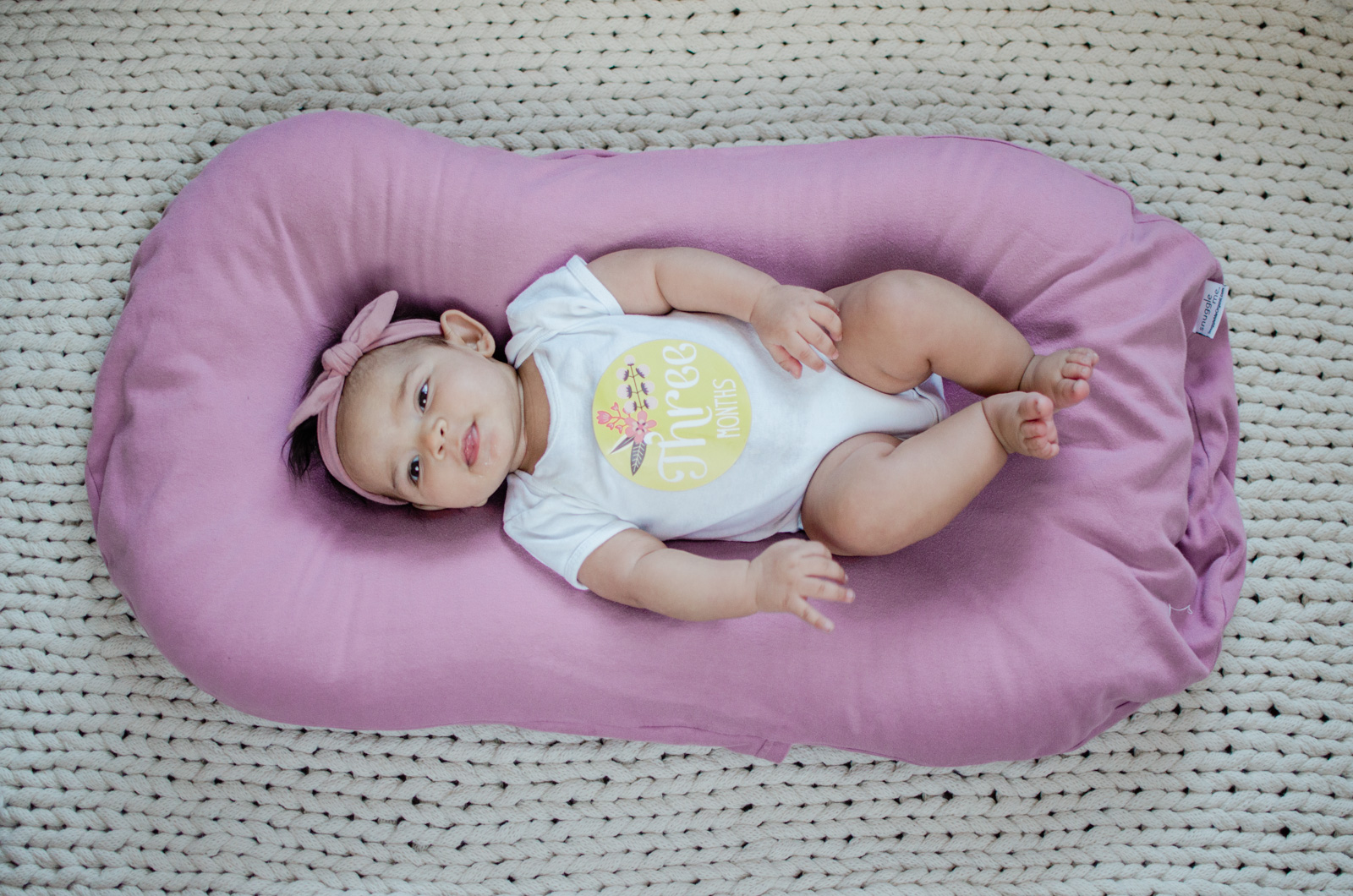 three month update - Eliana's three month old update | bylaurenm.com