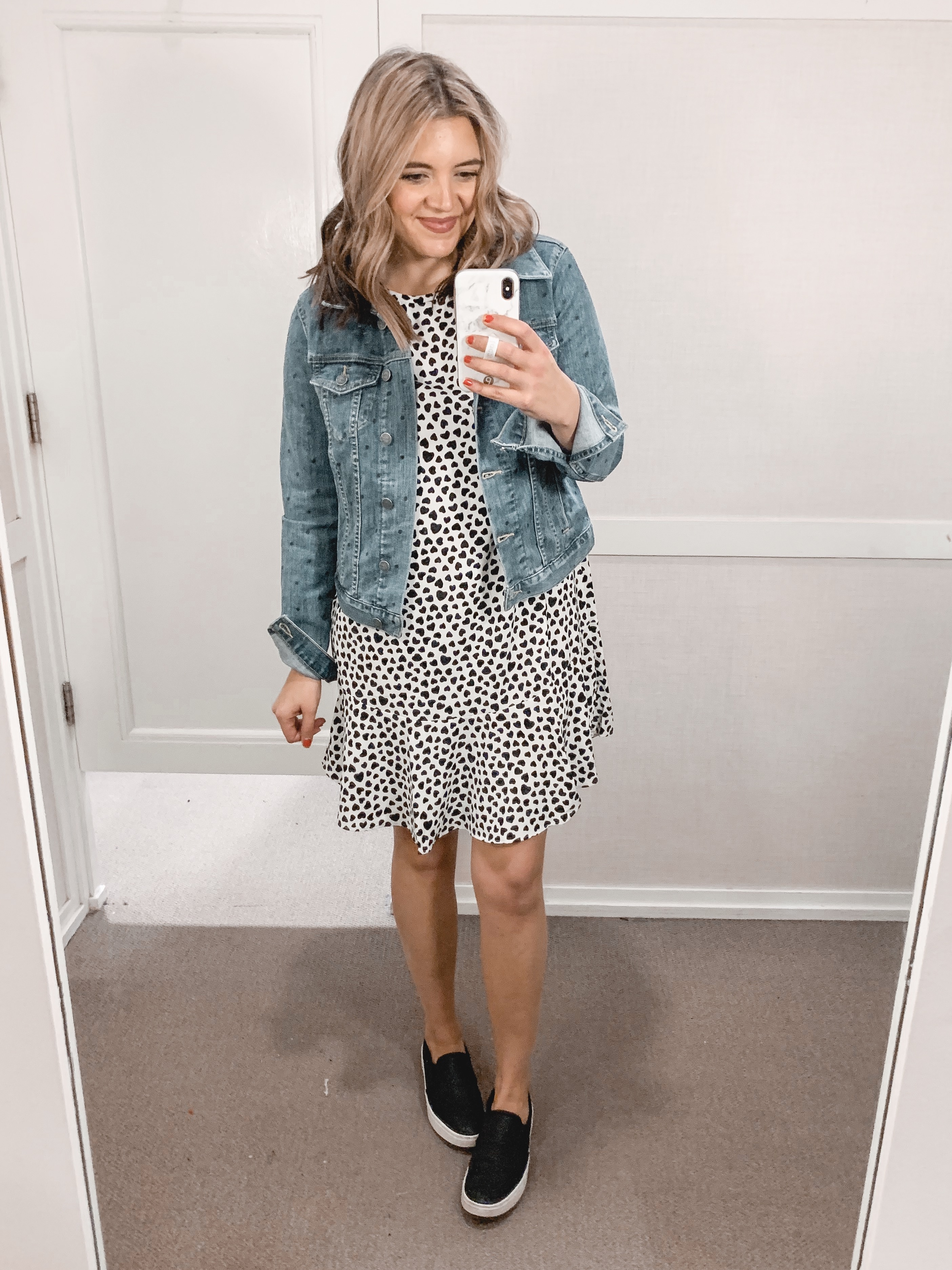 Affordable style blogger Lauren Dix shares a January Loft try on with over ten winter outfits!