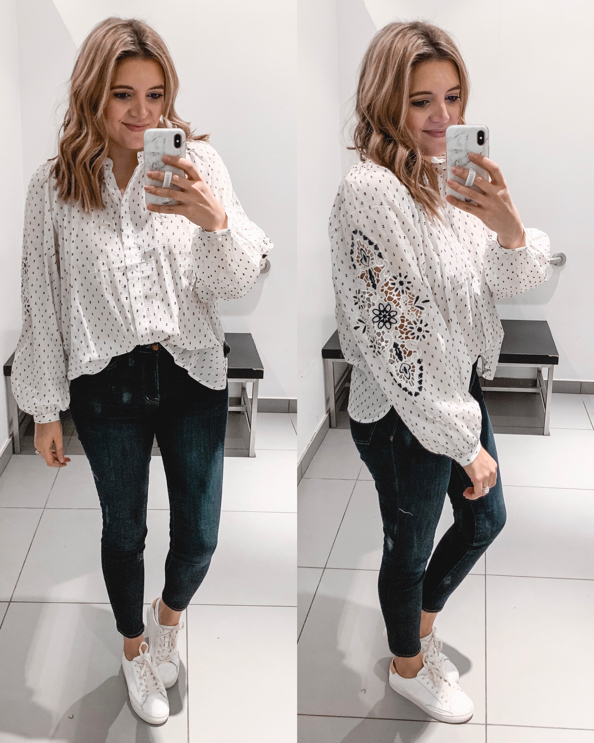 Affordable style blogger Lauren Dix shares an H&M try on February with over ten early spring outfits.