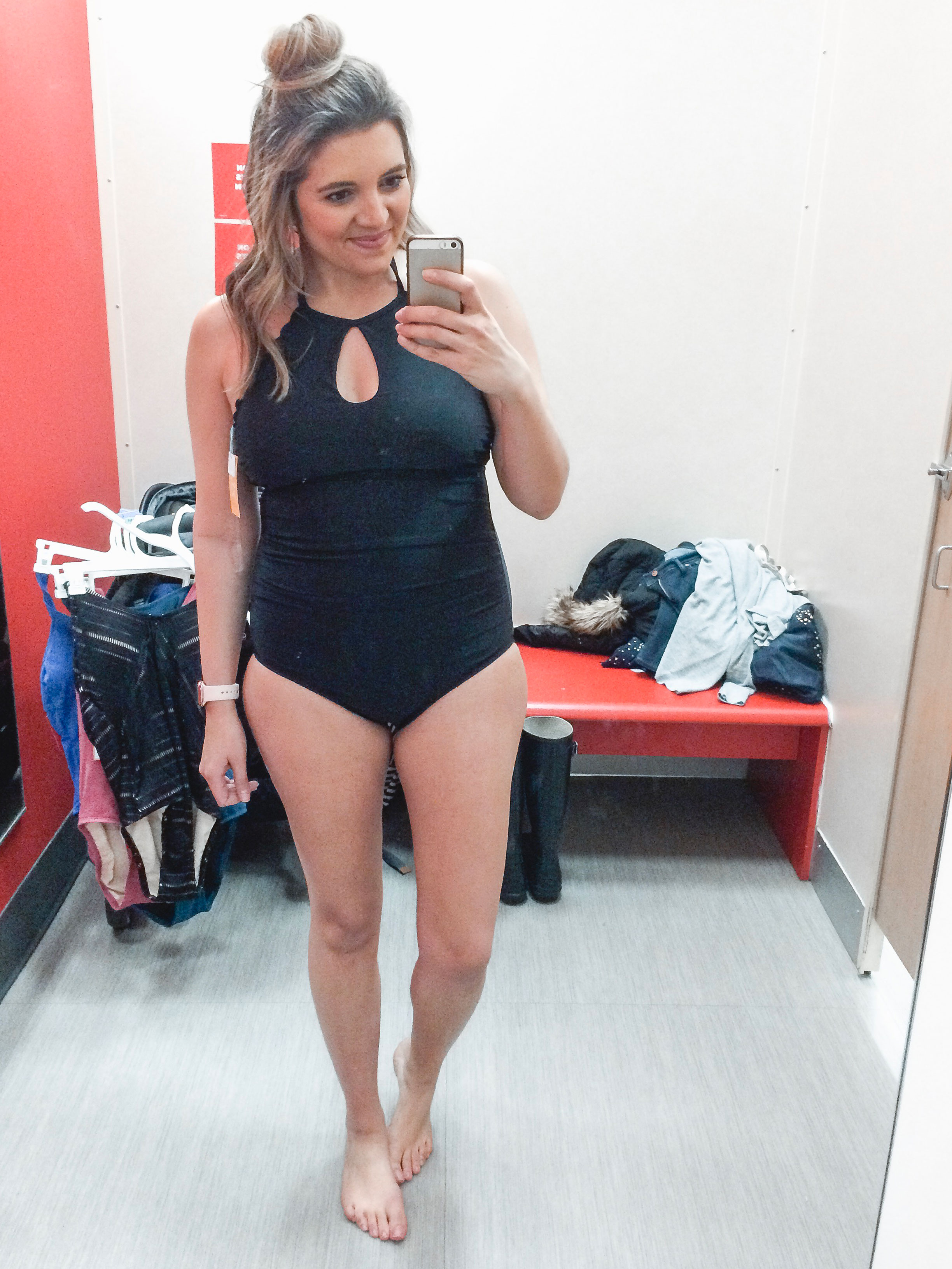Affordable style blogger Lauren Dix shares over 25 of the best affordable one piece swimsuits!