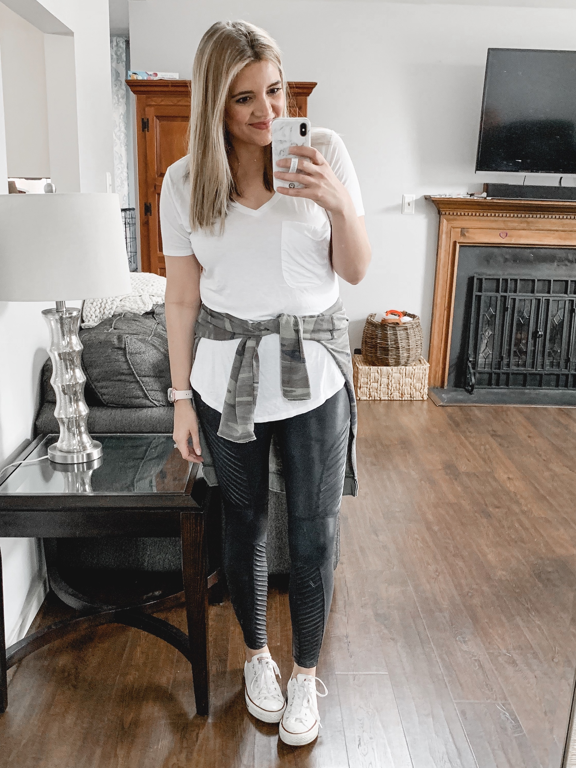 Affordable style blogger Lauren Dix shares her top Shopbop sale picks, including her favorite Spanx faux leather leggings!