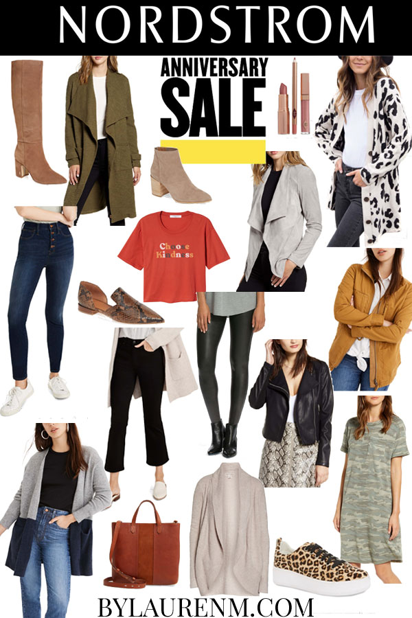 Virginia blogger, Lauren Dix, shares her top Nordstrom Anniversary Sale 2019 picks!