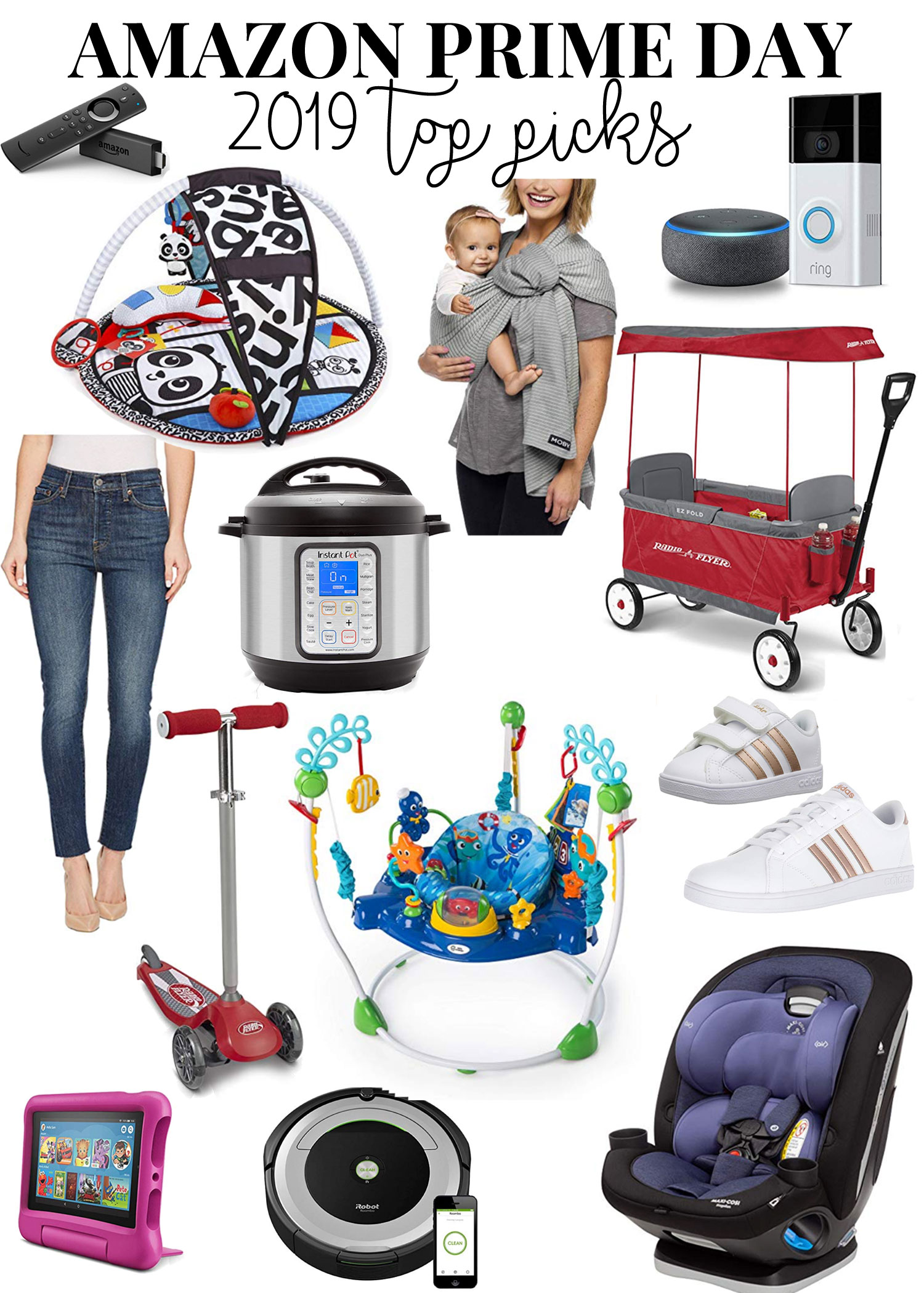 Amazon Prime Day 2019 top picks, including baby items, women's fashion, and home from bylaurenm.com