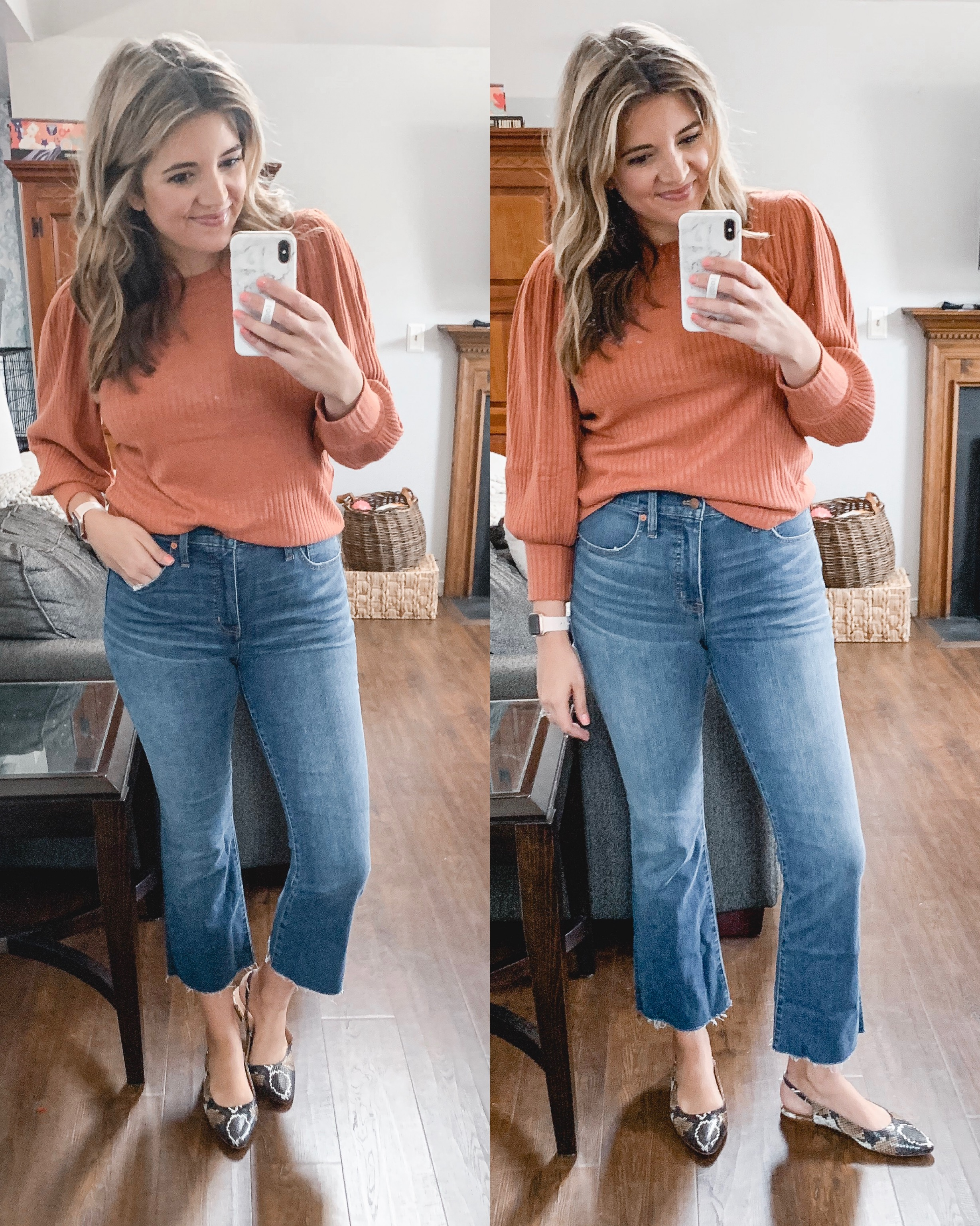 Virginia blogger, Lauren Dix, shares a Madewell try on session from September 2019. See all her favorite Madewell picks all currently on sale!